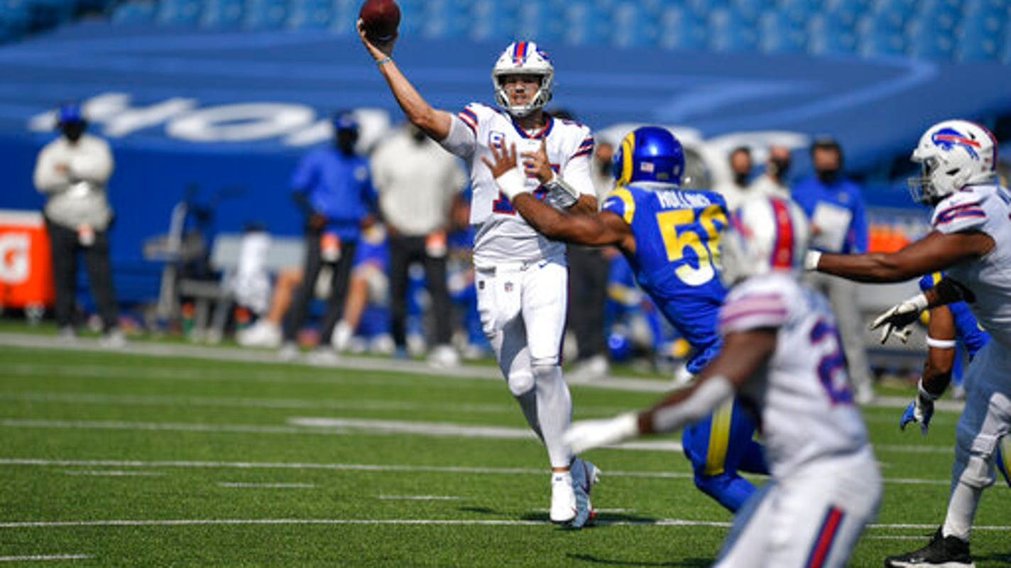 Buffalo Bills avoid disaster after late collapse, knock off Rams