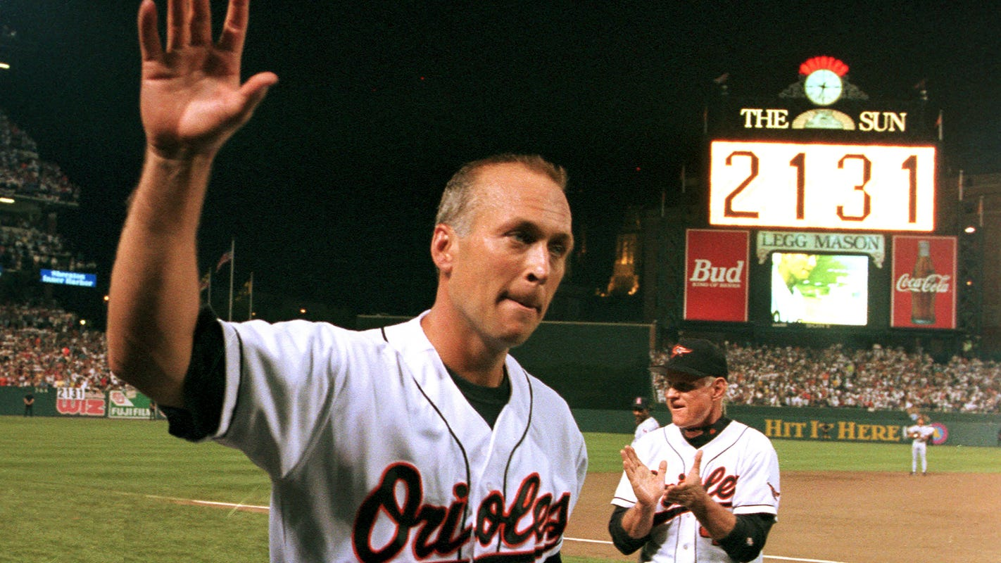 Cal Ripken Jr. broke Lou Gehrig's record 25 years ago