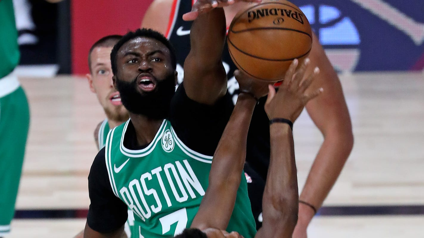 Celtics Jaylen Brown is a star, but game 'just a glimpse' of who he is