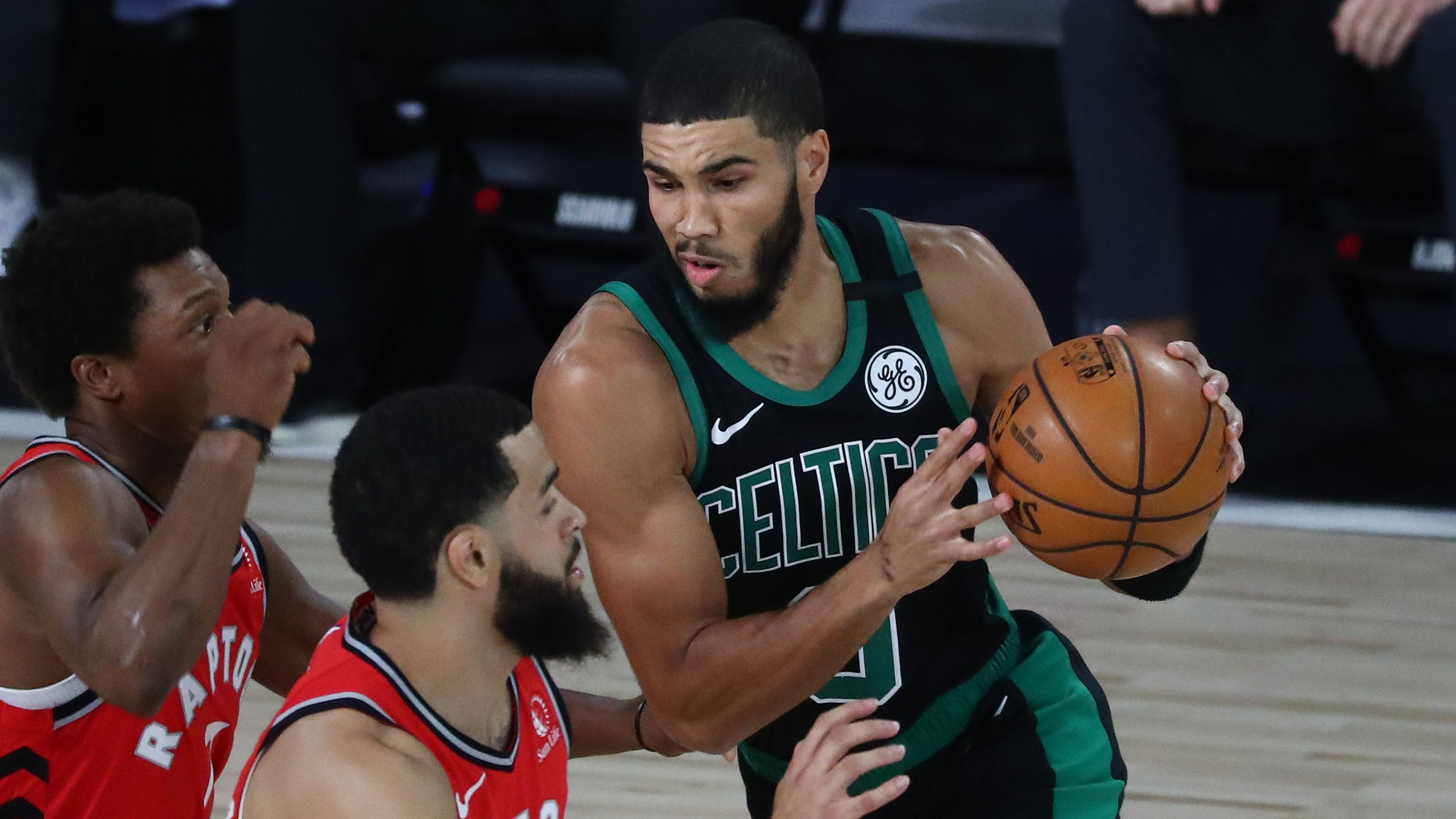 Celtics crush Raptors in Game 5 to move one win from East finals