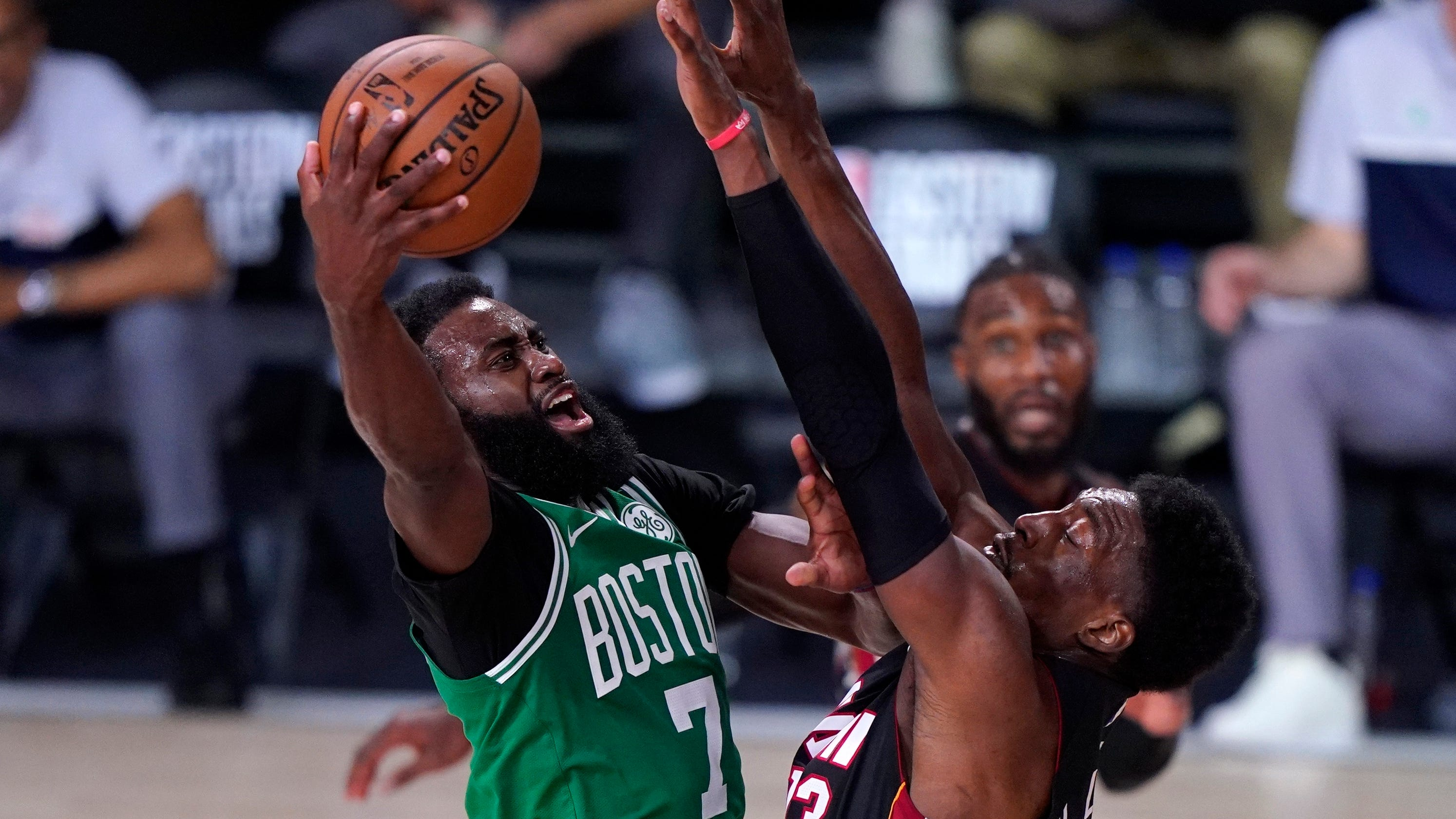 Celtics rebound to beat Heat in Game 3 of Eastern Conference finals