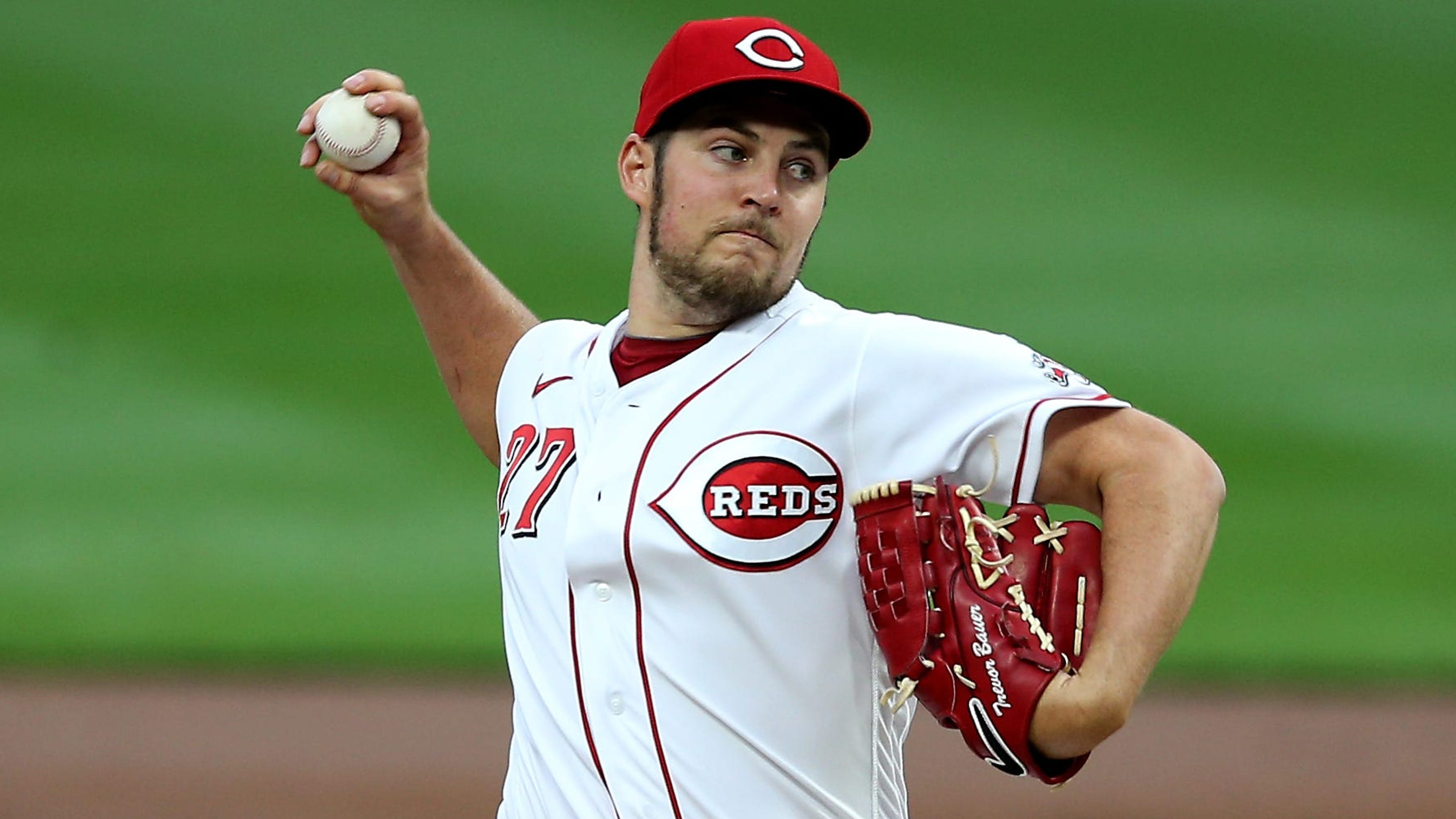 Cincinnati Reds' Trevor Bauer on his Cy Young case: 'I don't see how you can see it any other way'