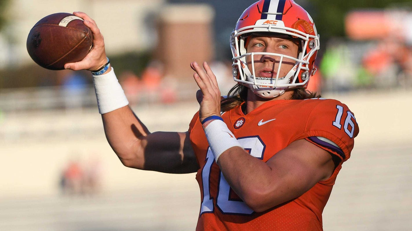 Clemson quarterback Trevor Lawrence tells ESPN Gameday he will go pro after 2020 season