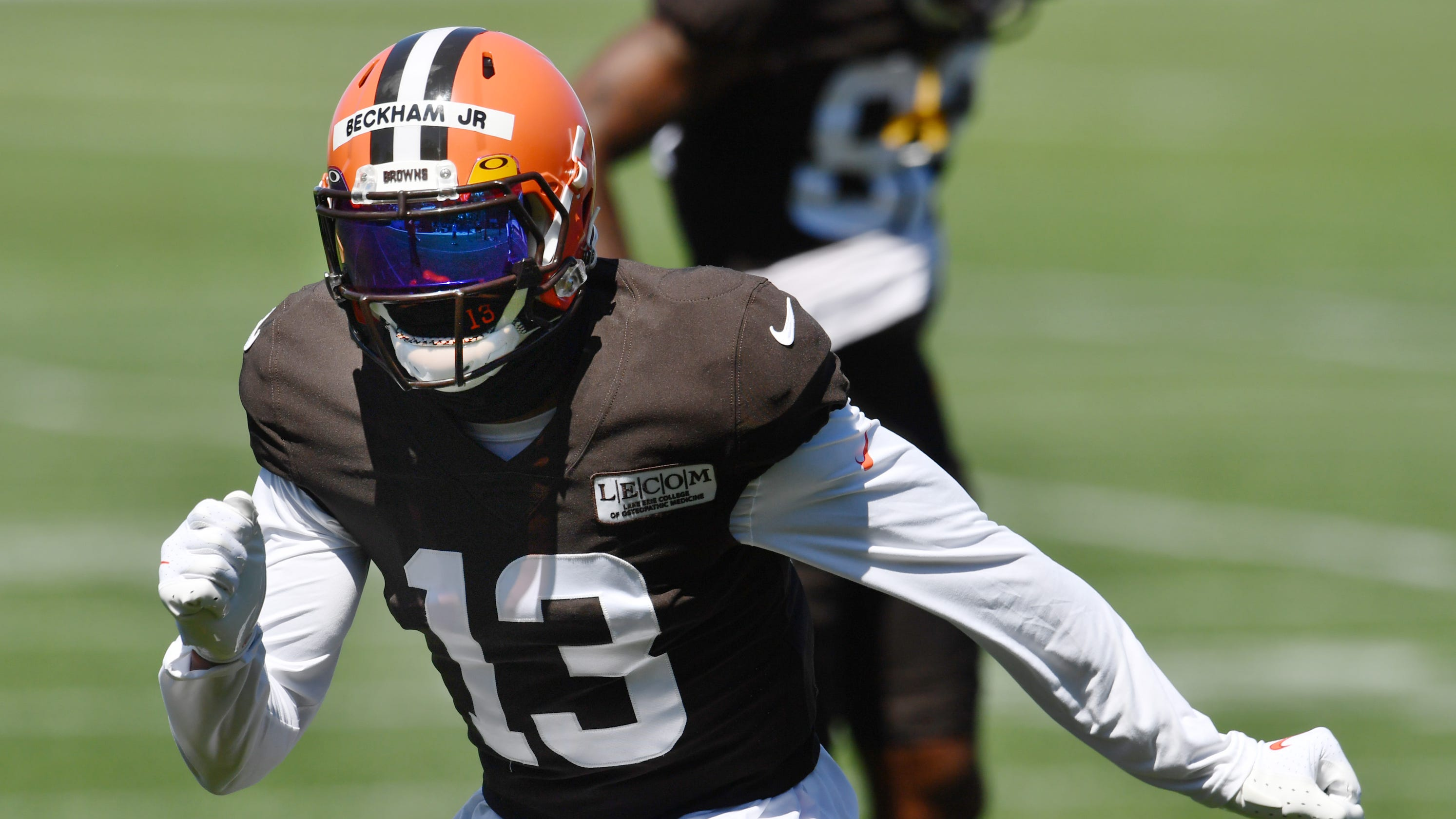 Cleveland Browns' Odell Beckham Jr. ready to run, backs off 2020 vow