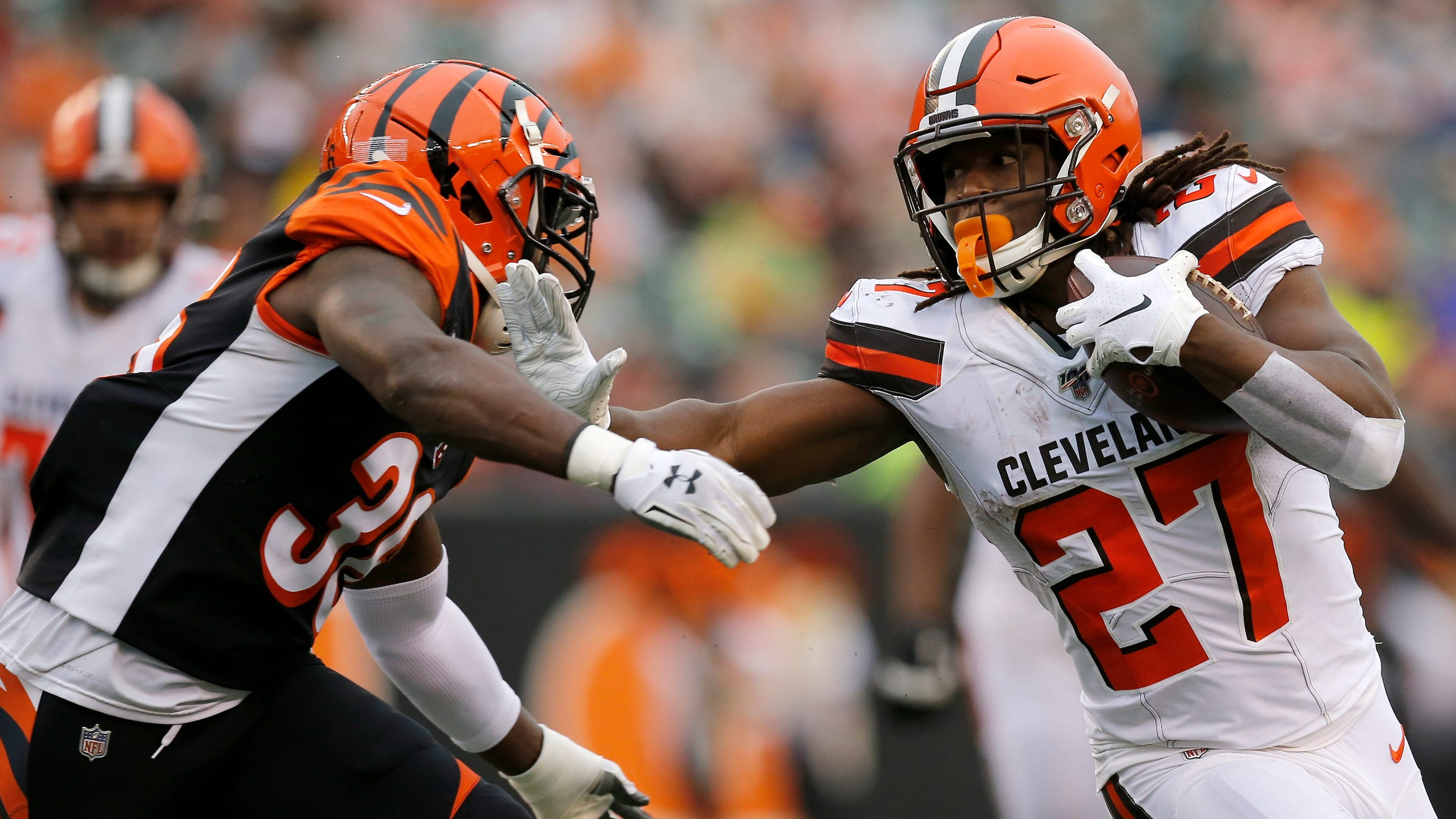 Cleveland Browns RB staying put