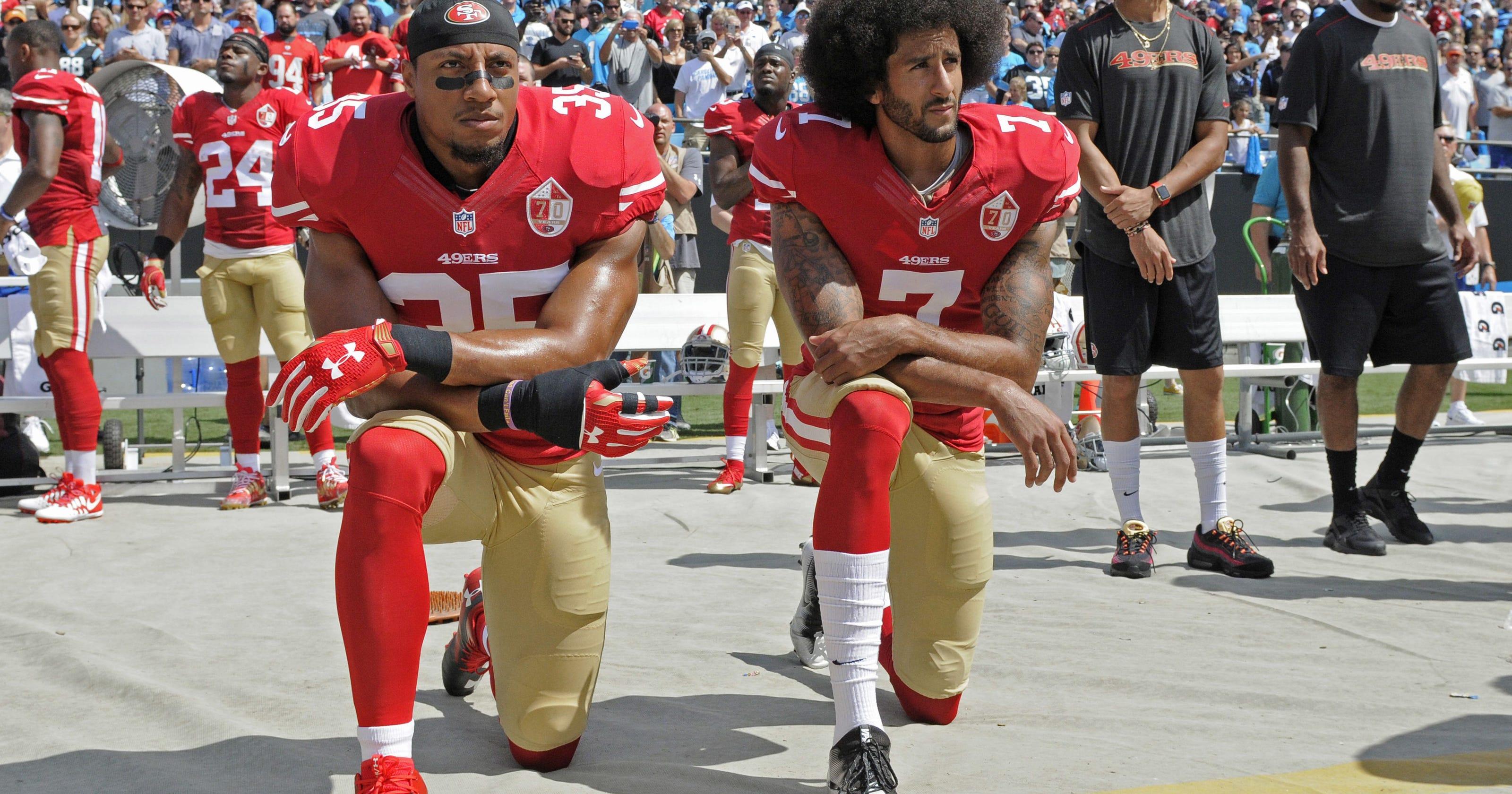 Colin Kaepernick: NFL is still blackballing Eric Reid for 'fighting for the Black community'