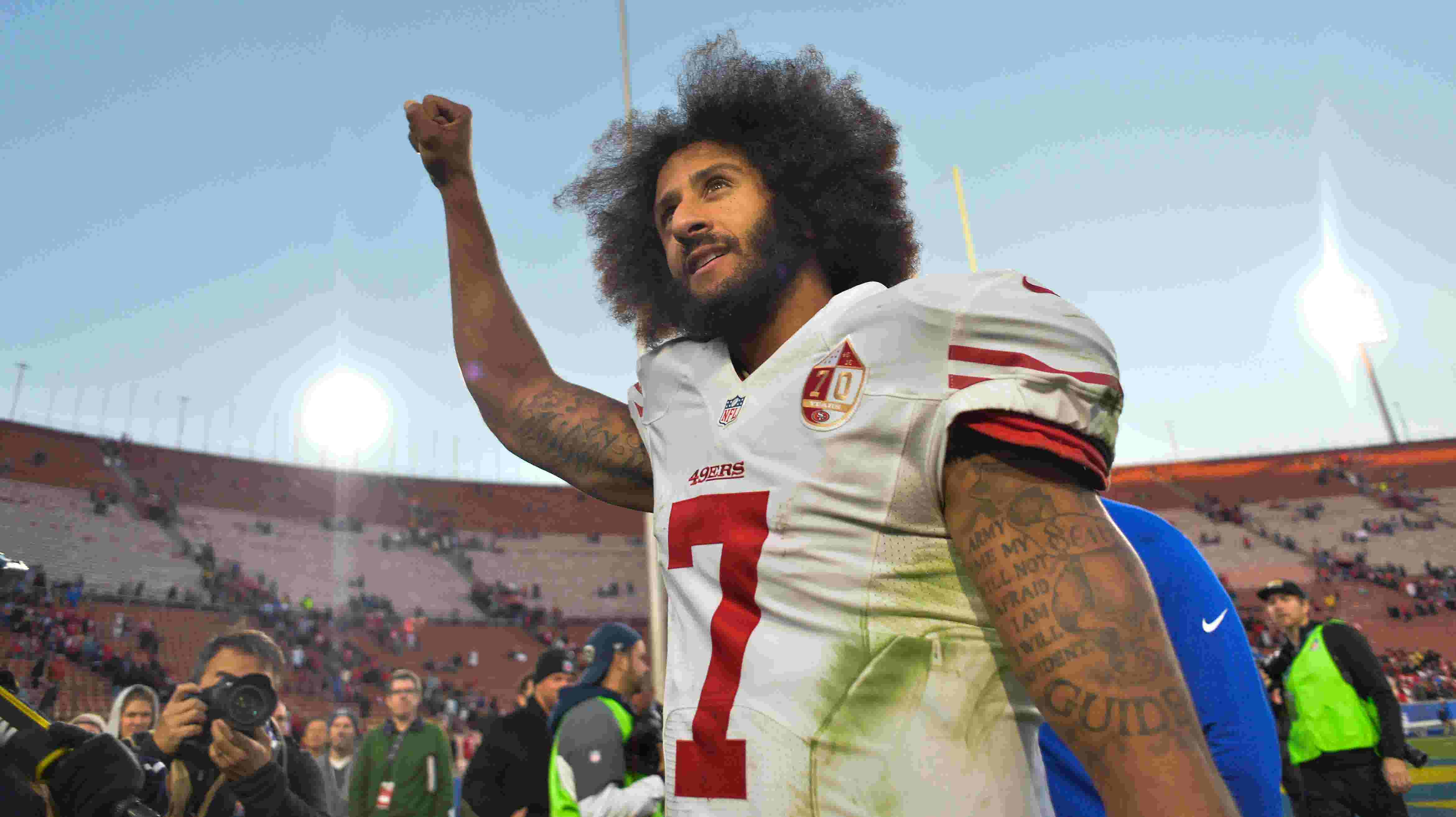 Colin Kaepernick is nominated for the Pro Football Hall of Fame