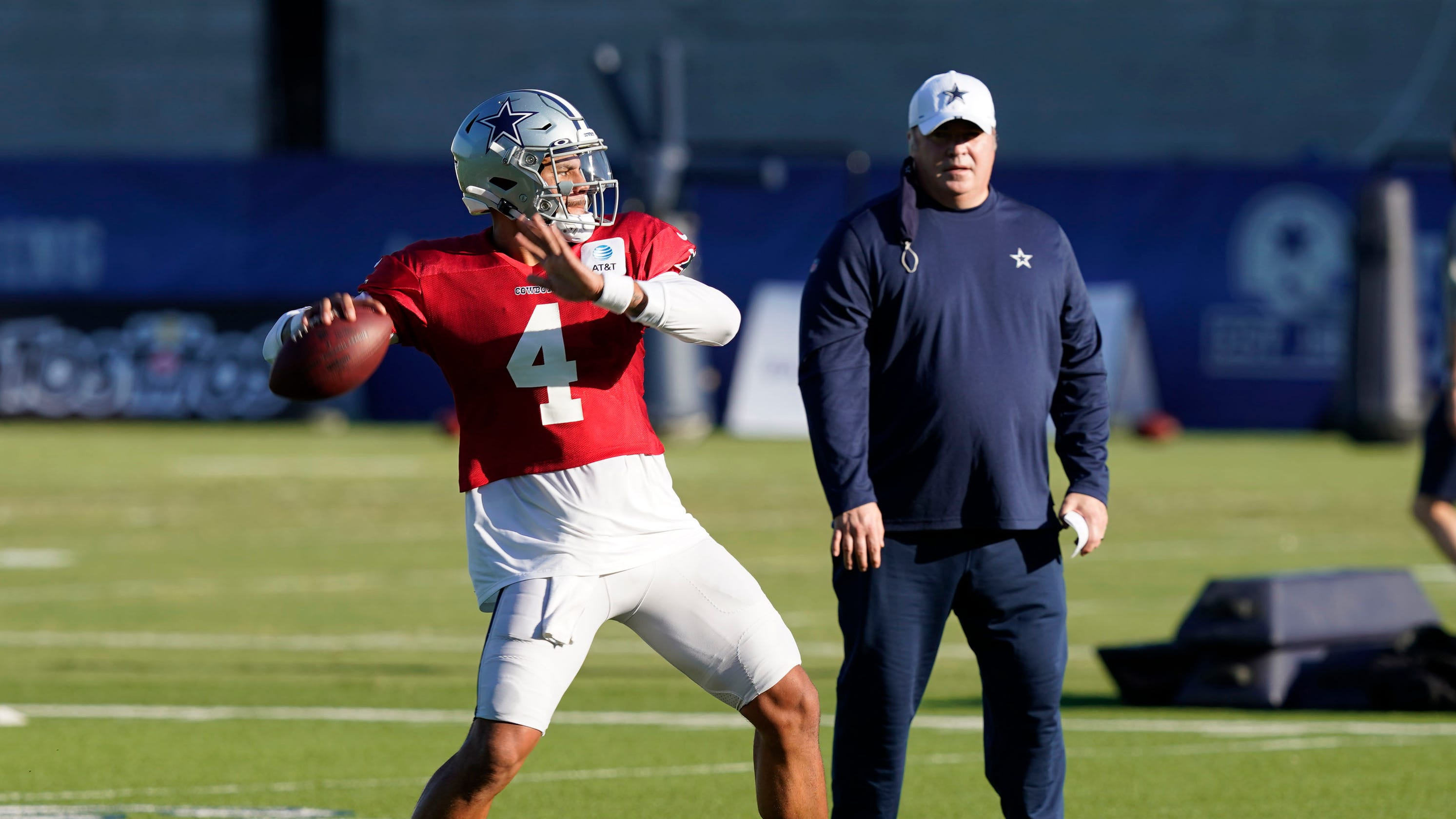 Cowboys coach Mike McCarthy praises Dak Prescott for opening up about mental health