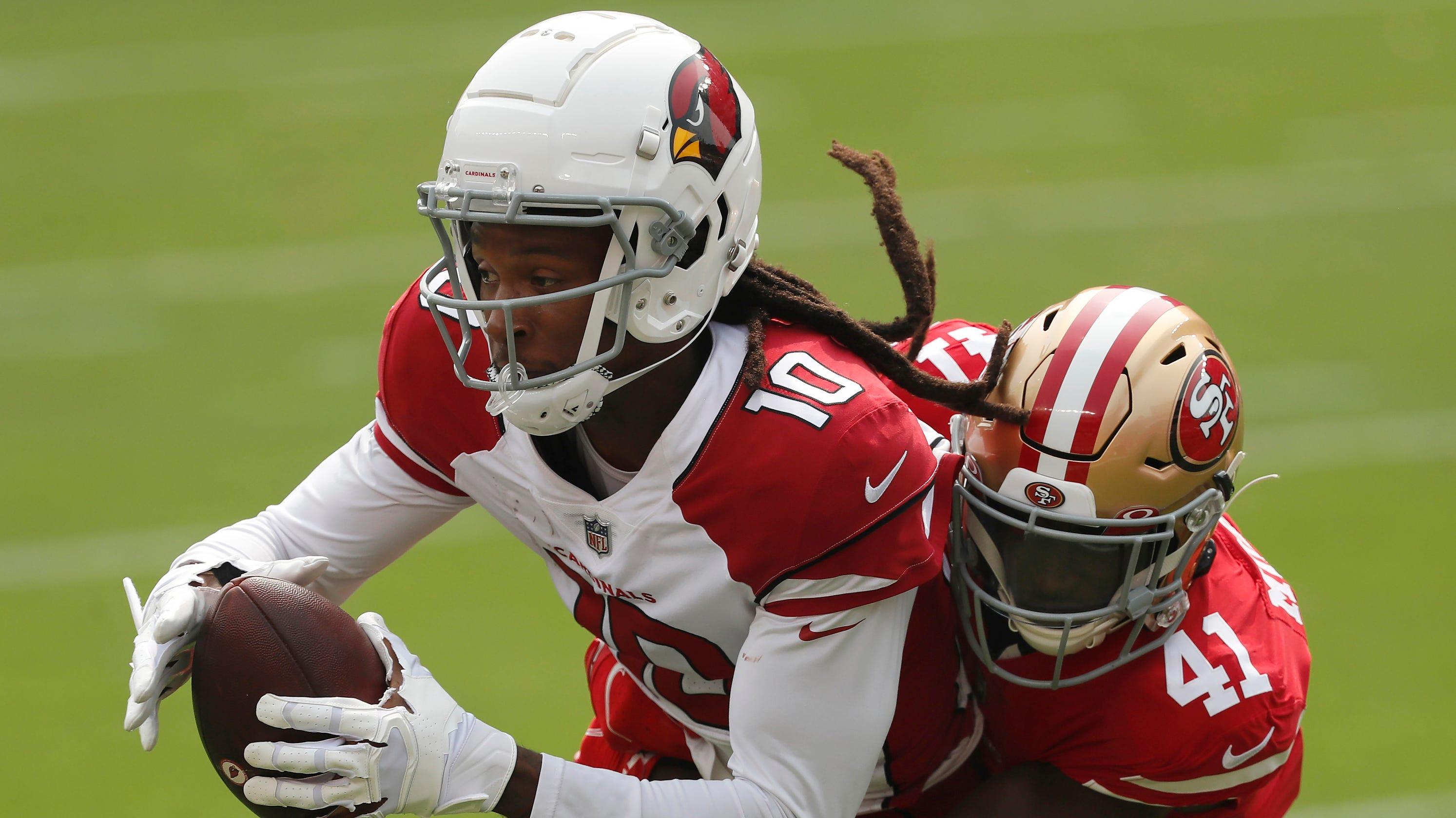 DeAndre Hopkins sparks Arizona Cardinals to upset of 49ers