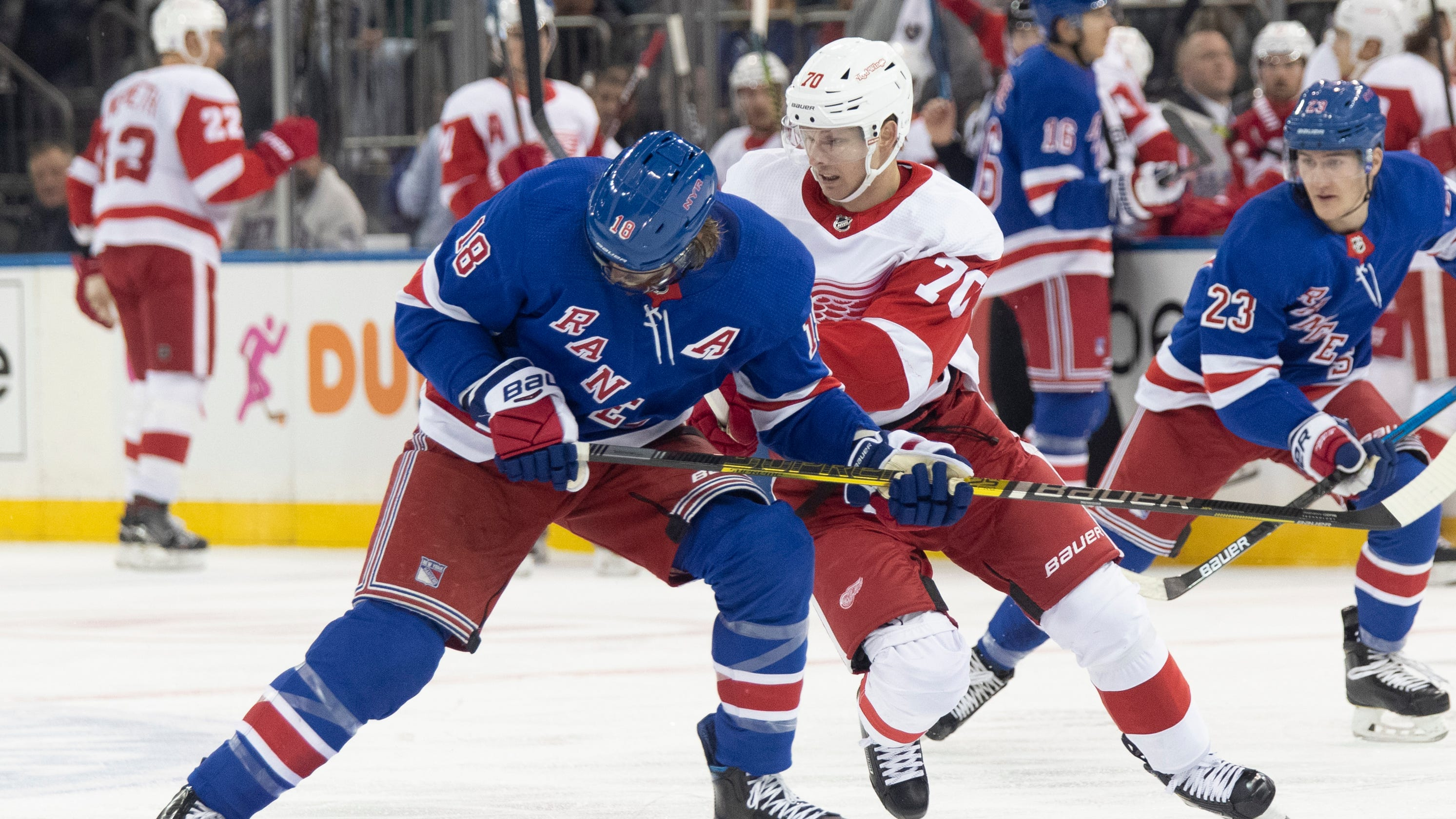 Detroit Red Wings trade for Marc Staal, add draft pick from Rangers