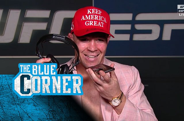 Donald Trump calls Colby Covington after UFC win: 'Two of a kind'