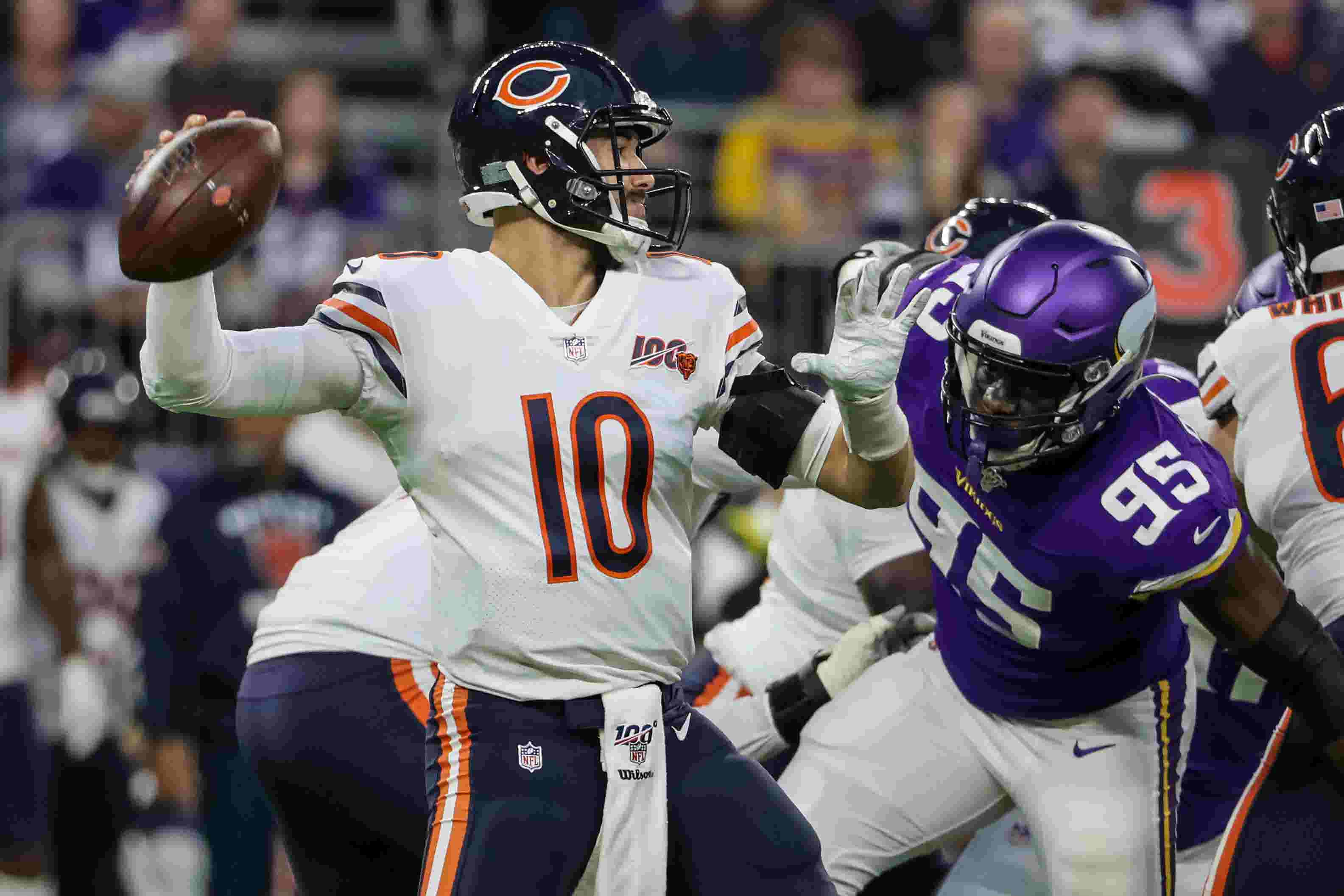 Early NFL game headlines: Bears comeback to beat the Lions on the road