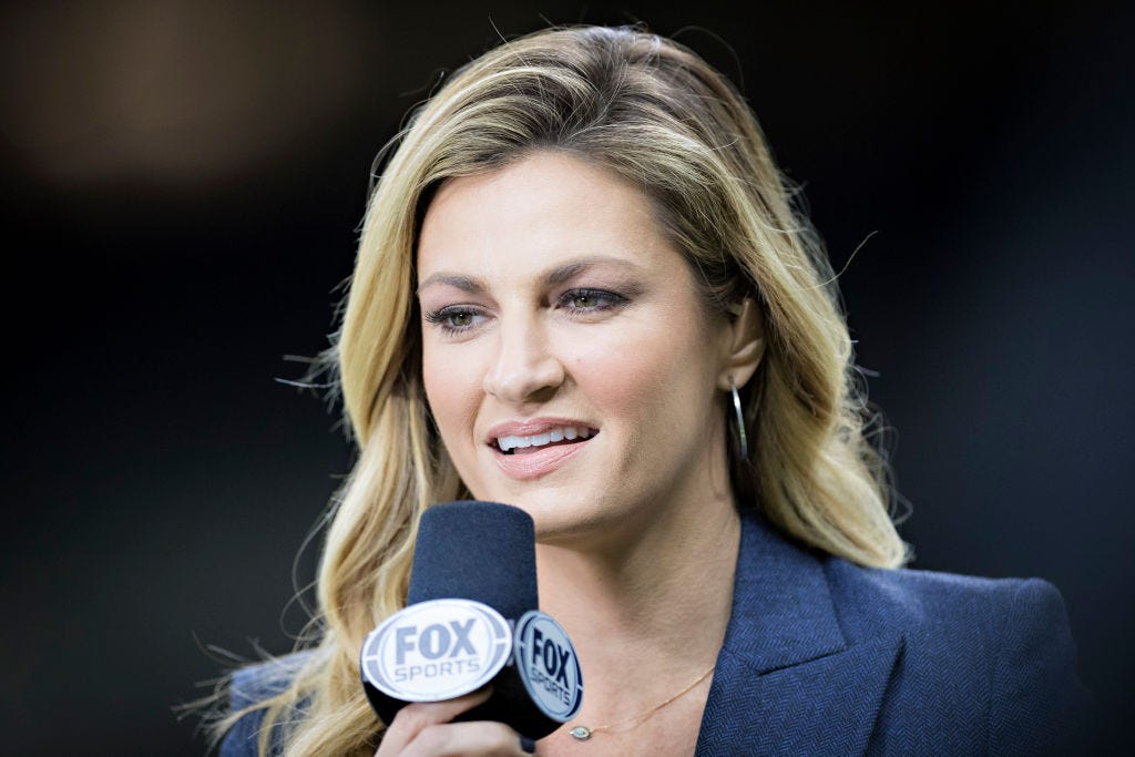 Erin Andrews on FOX's NFL coverage: Expect fake crowd noise, don't expect watered down product