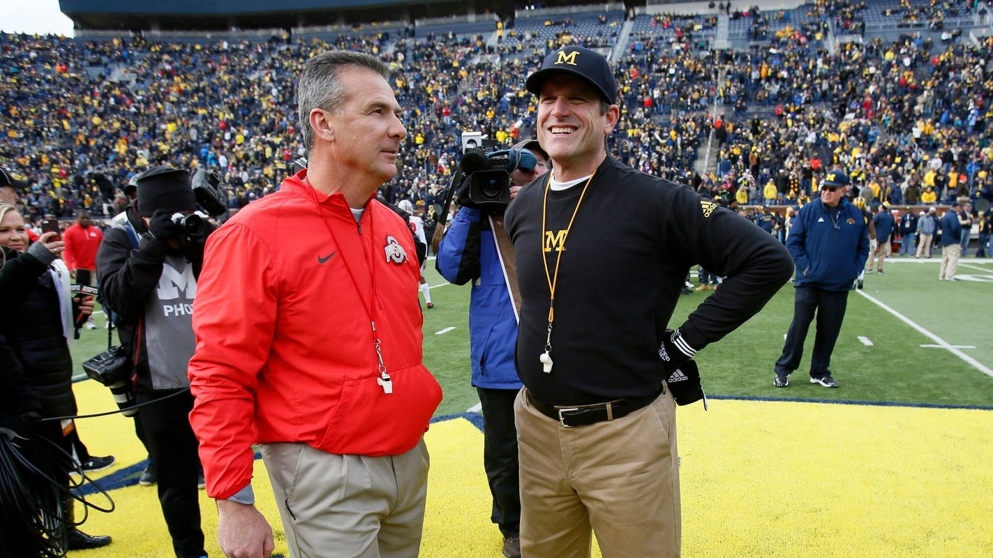 Ex-Ohio State coach Urban Meyer didn't feel bad running up the score on Michigan football