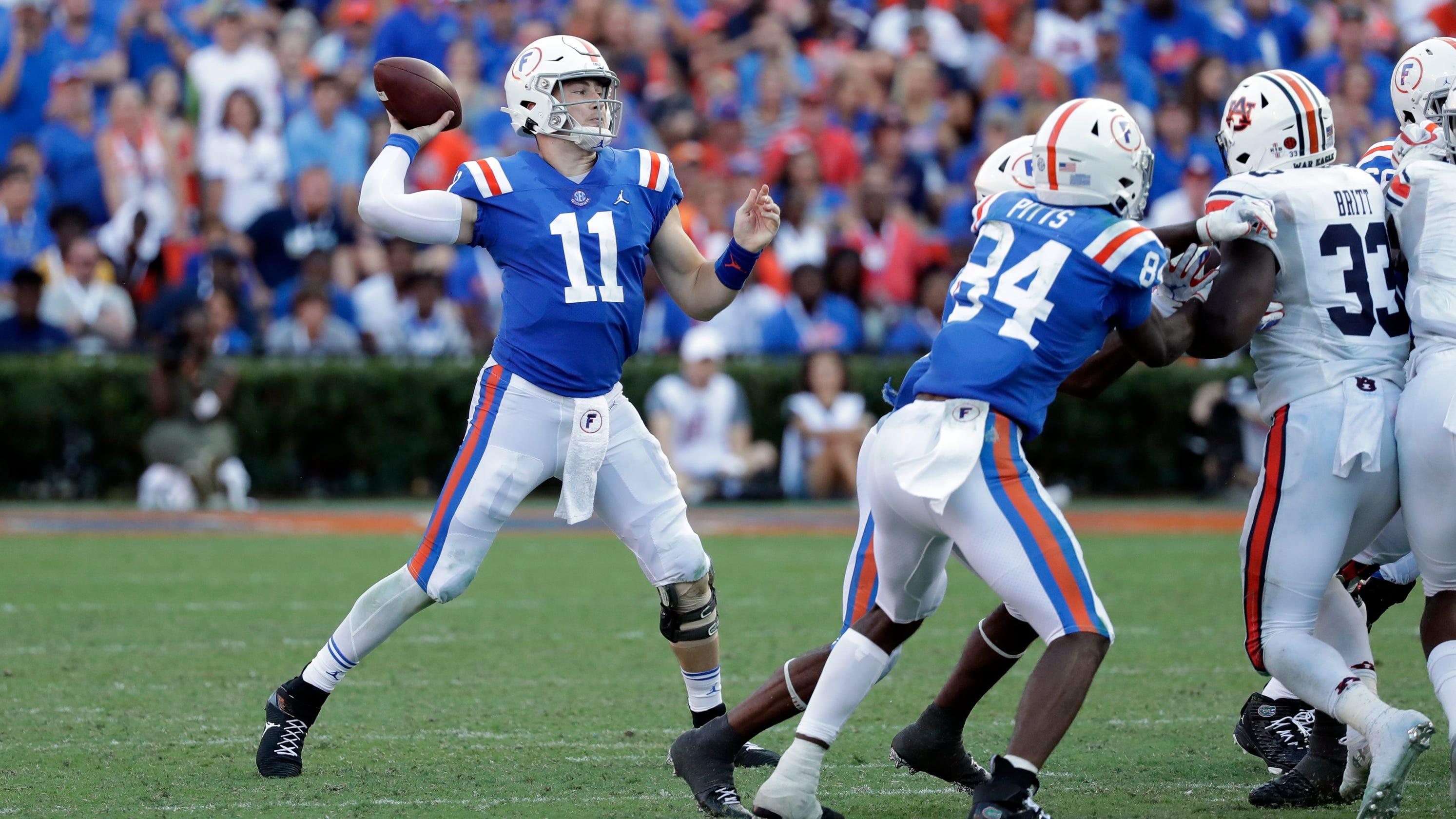 Florida, Auburn, LSU top College Football Playoff Week 4 impact games