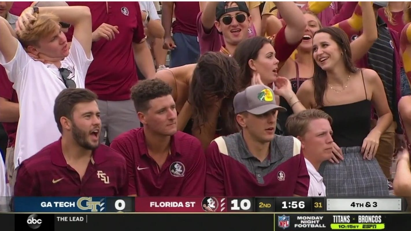 Florida State fans not wearing masks at football game draw criticism