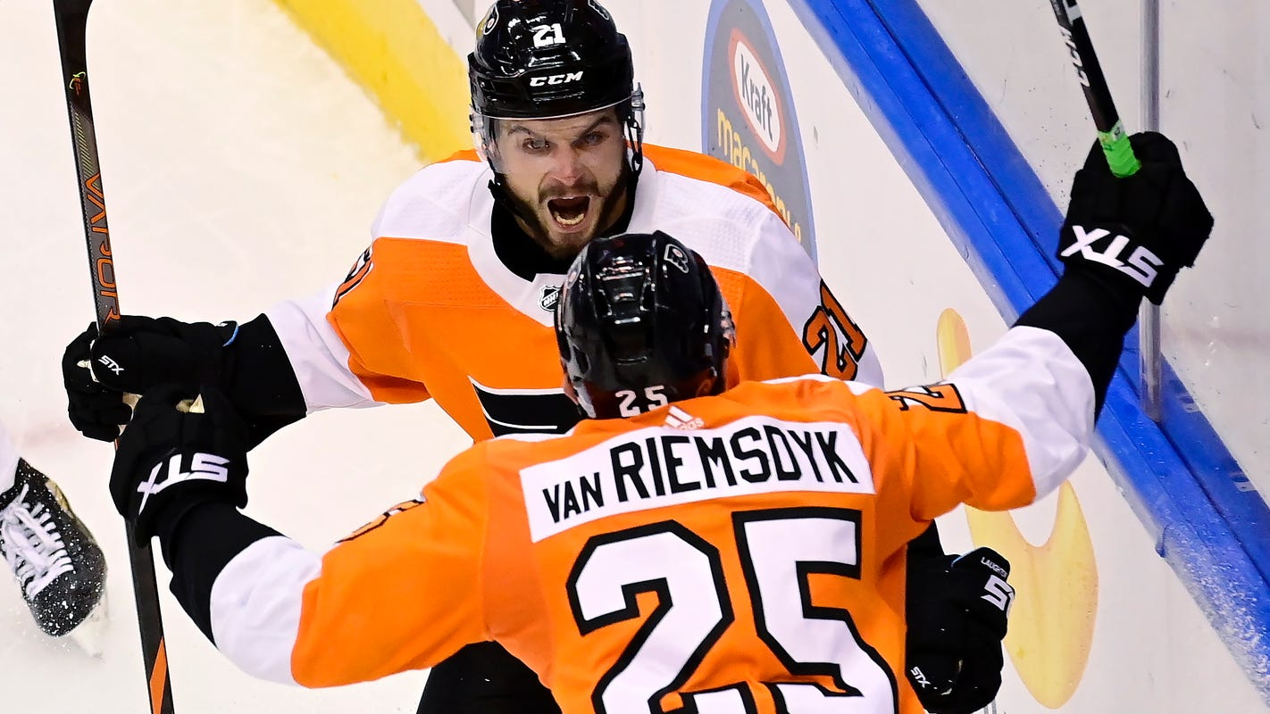 Flyers bounce back from late collapse for 4-3 overtime win against Islanders