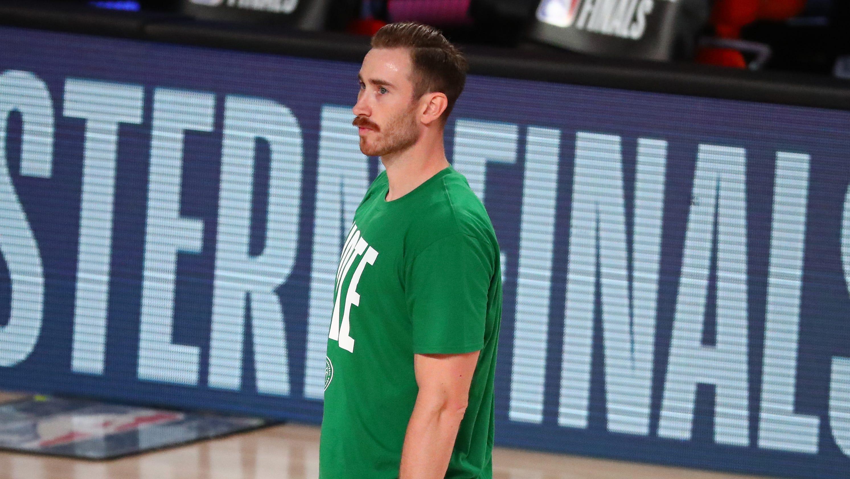Gordon Hayward's wife gives birth with Celtics star still in bubble