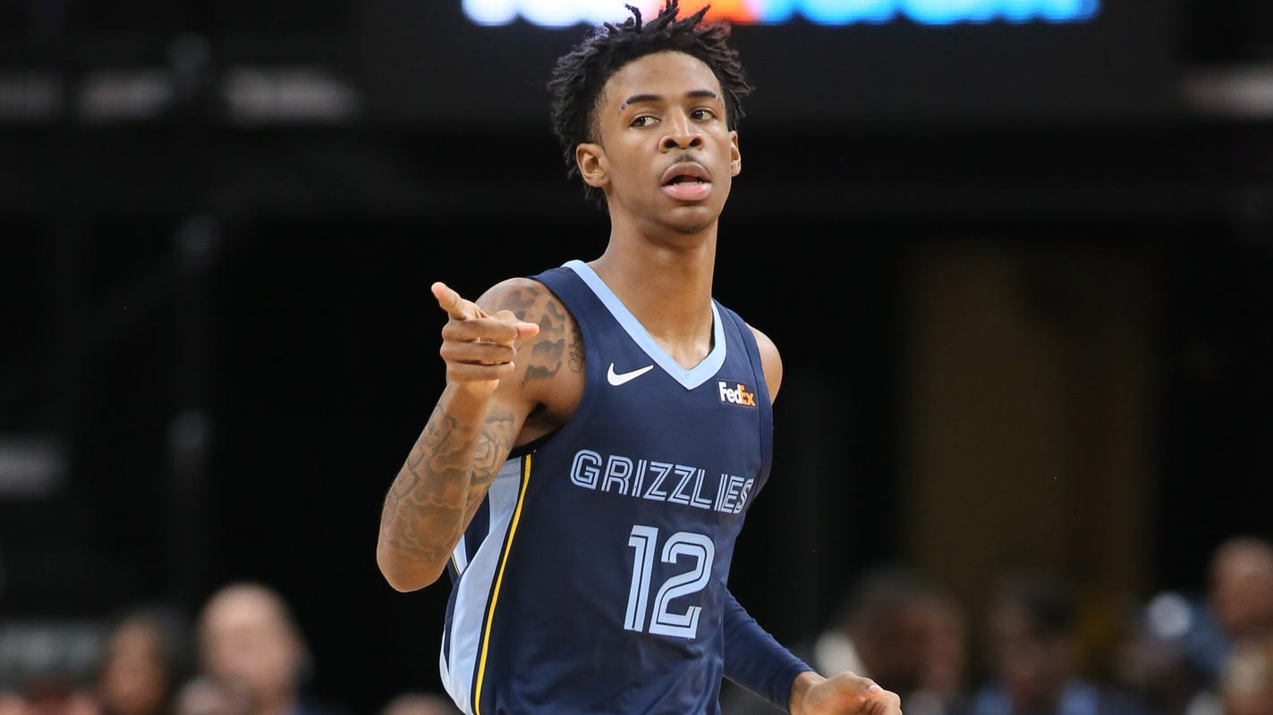 Grizzlies' Morant wins NBA Rookie of the Year in landslide
