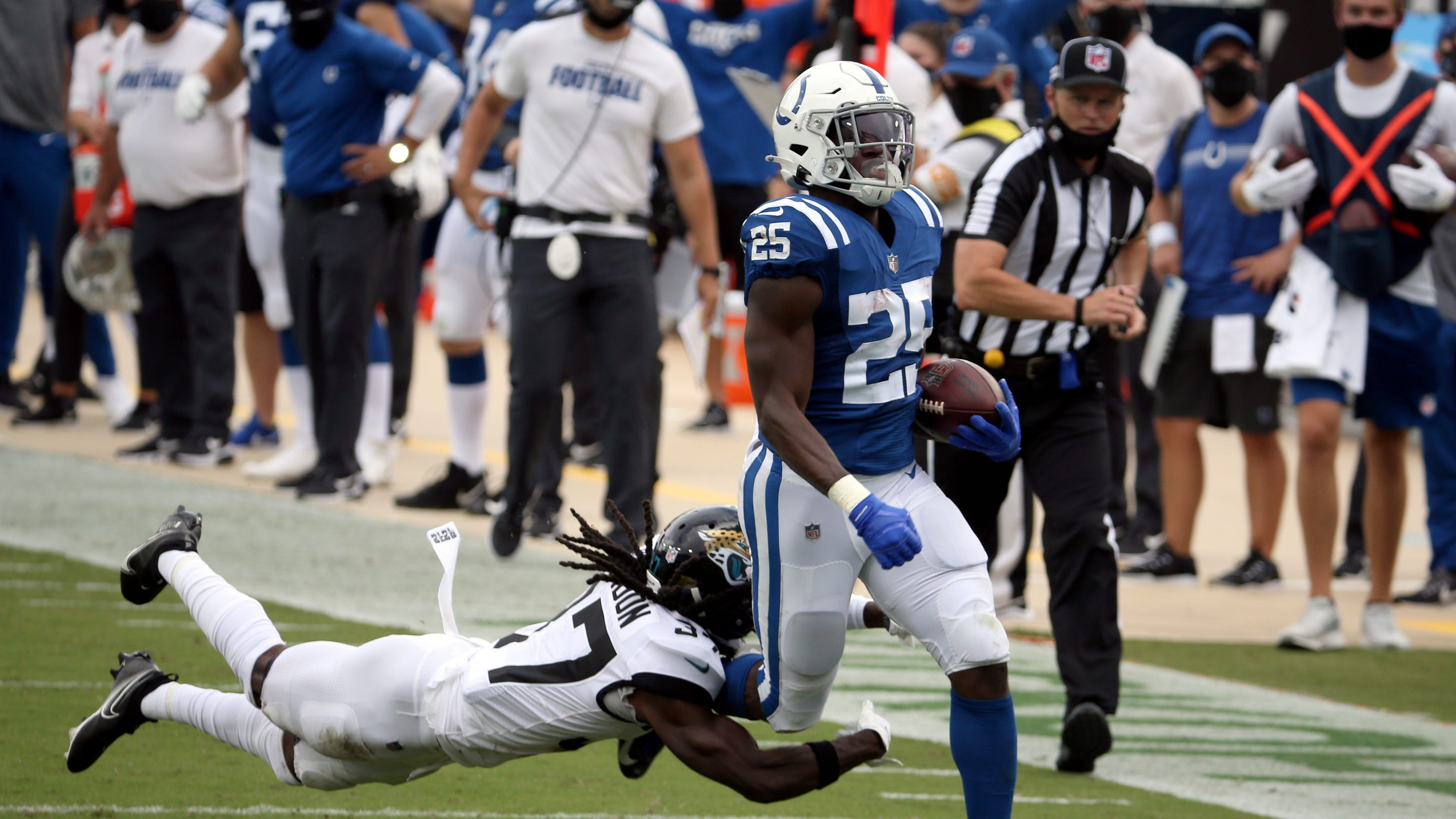 Indianapolis Colts RB out with torn Achilles