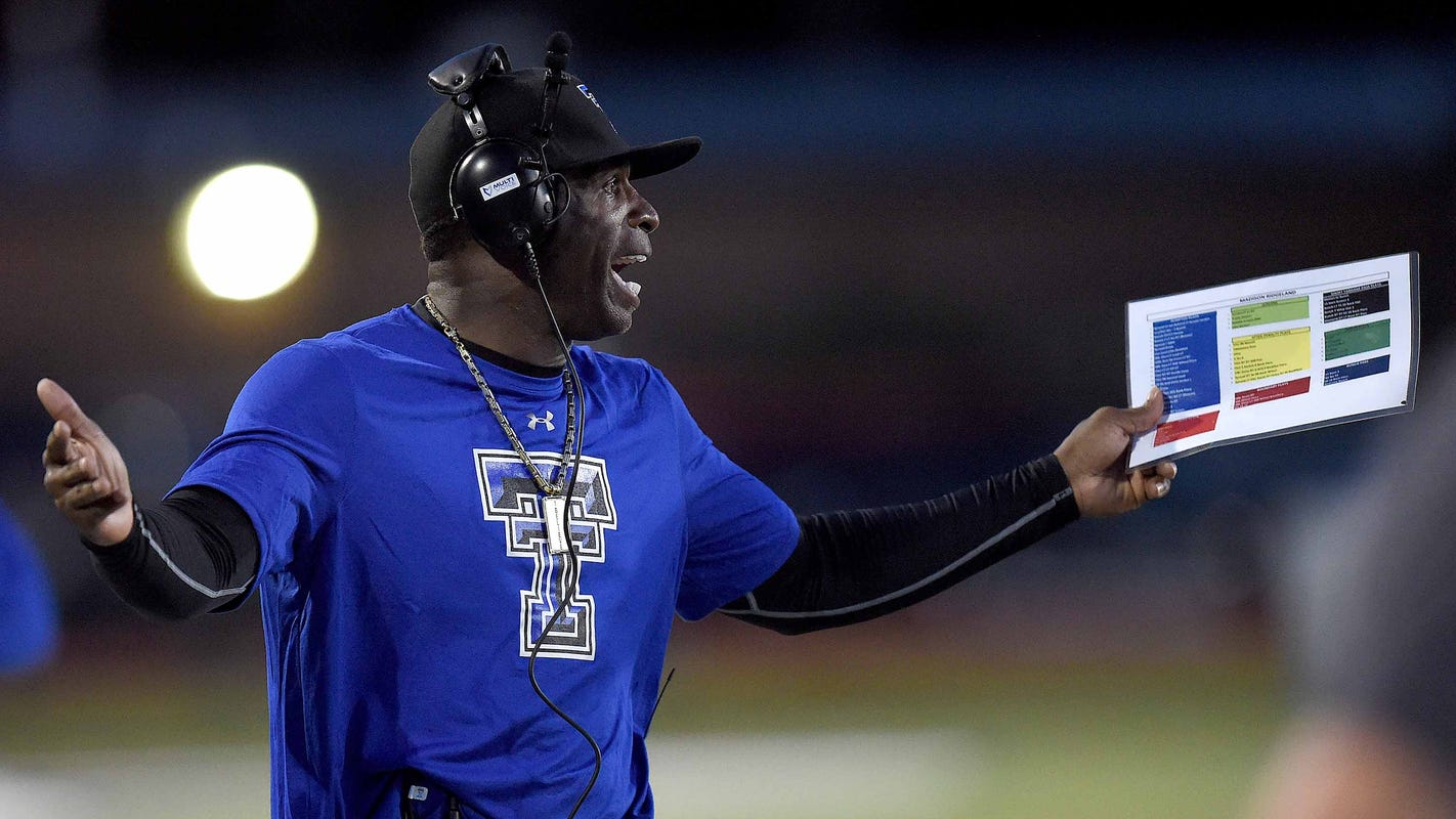 Jackson State expected to hire Deion Sanders as football coach