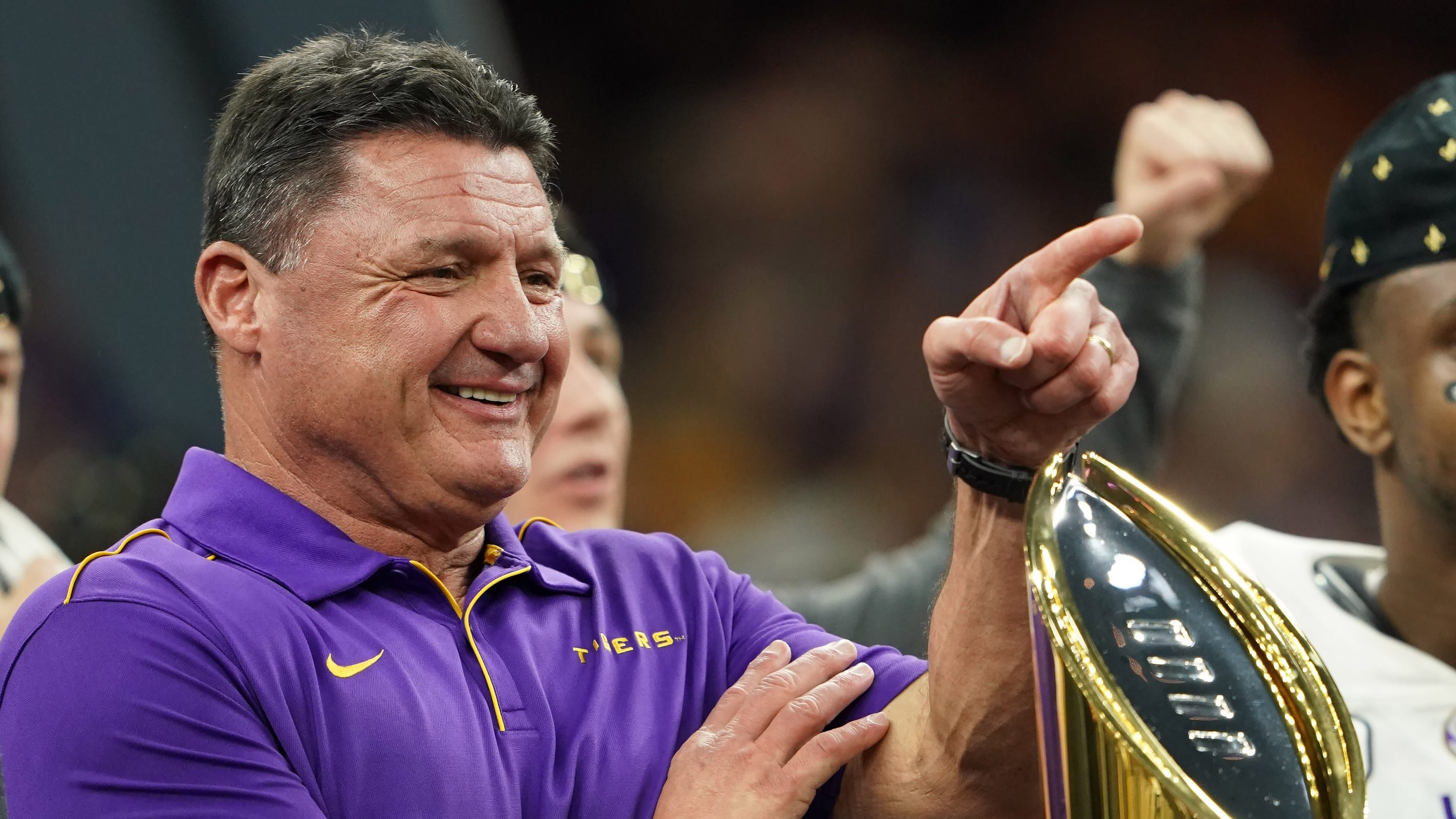 LSU coach Ed Orgeron reveals most of players already 'have caught' COVID-19