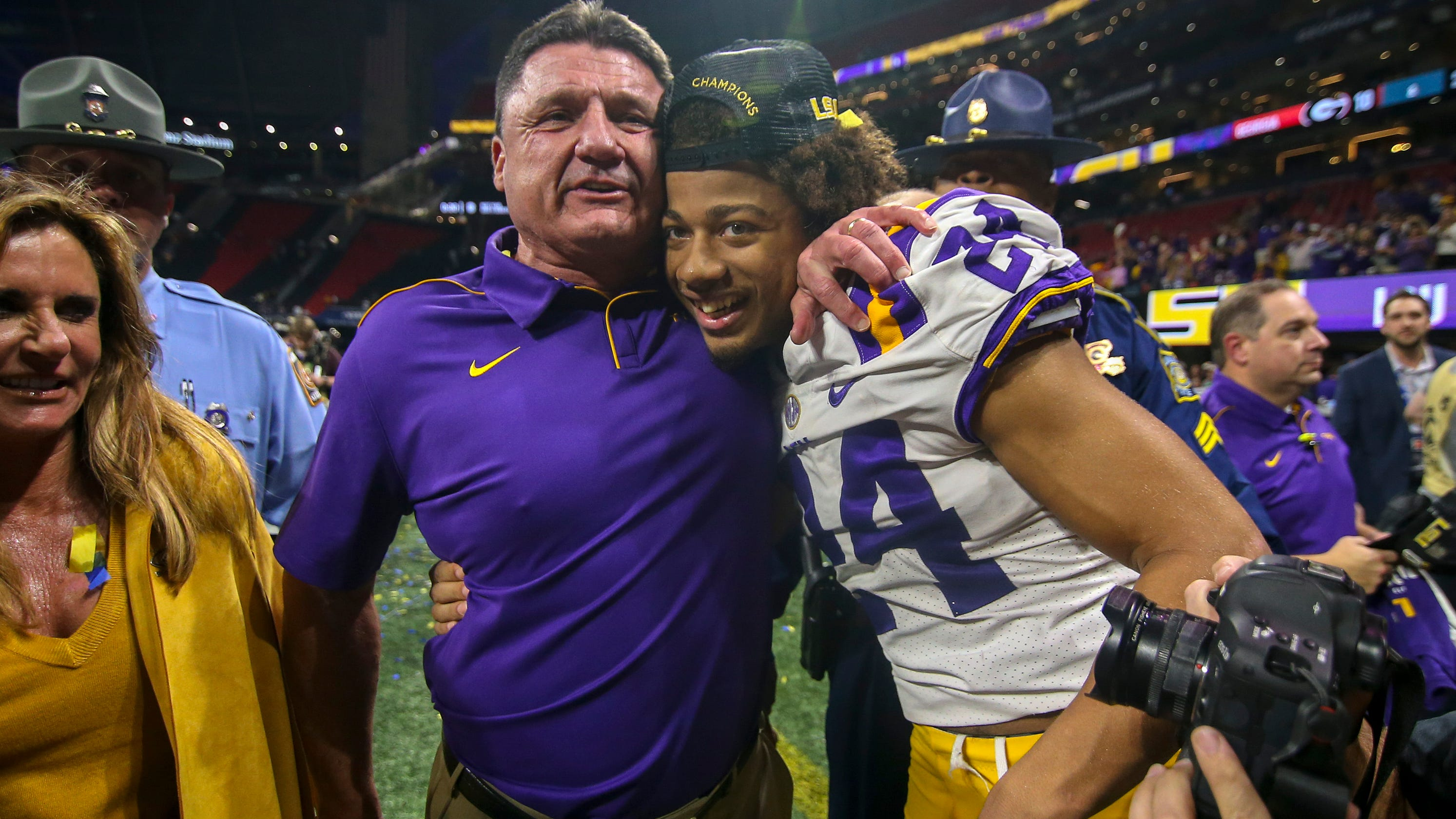 LSU coach Ed Orgeron says more players could opt out due to COVID-19
