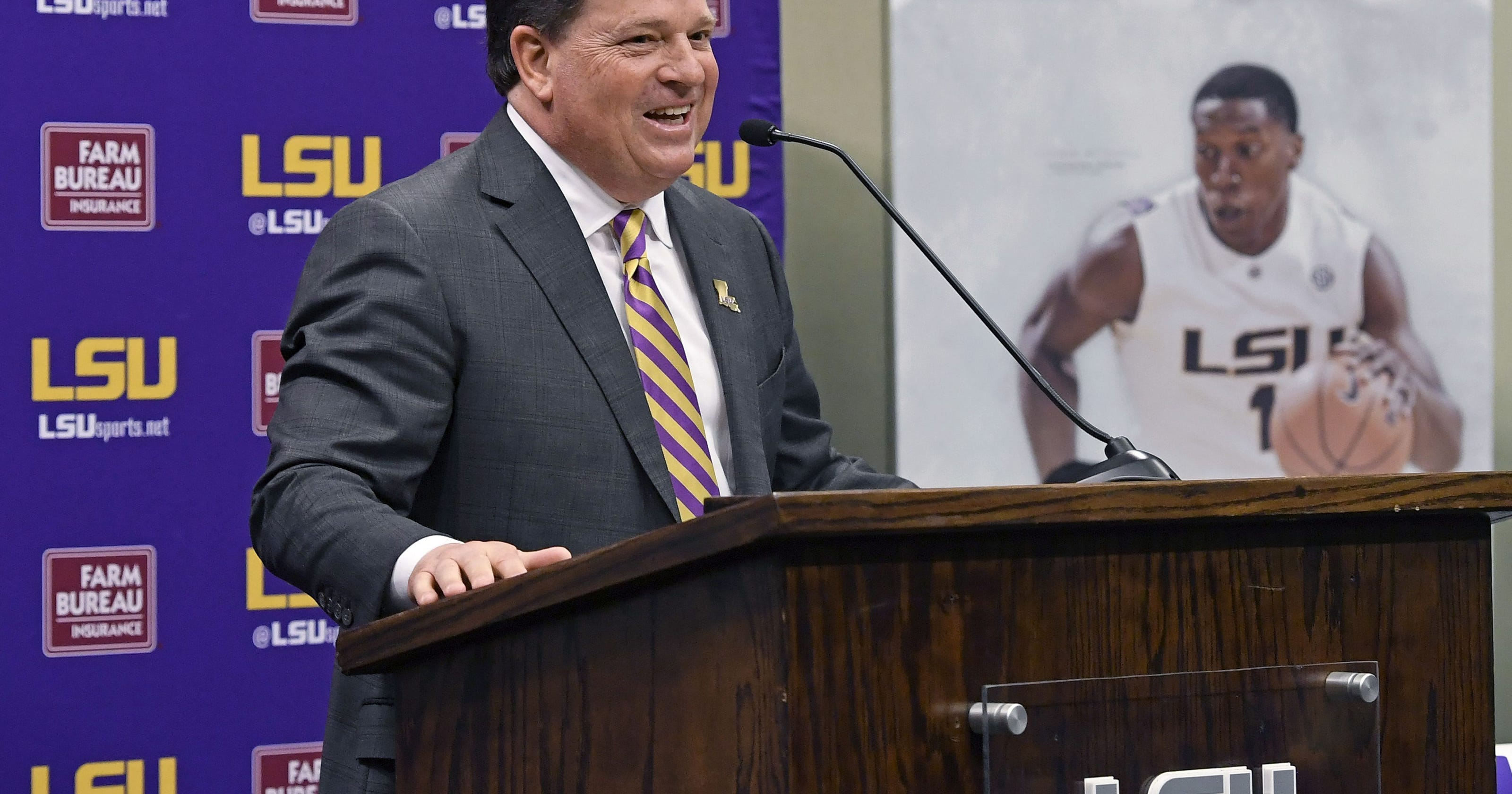 LSU football's COVID spike 'happened socially' athletic director says
