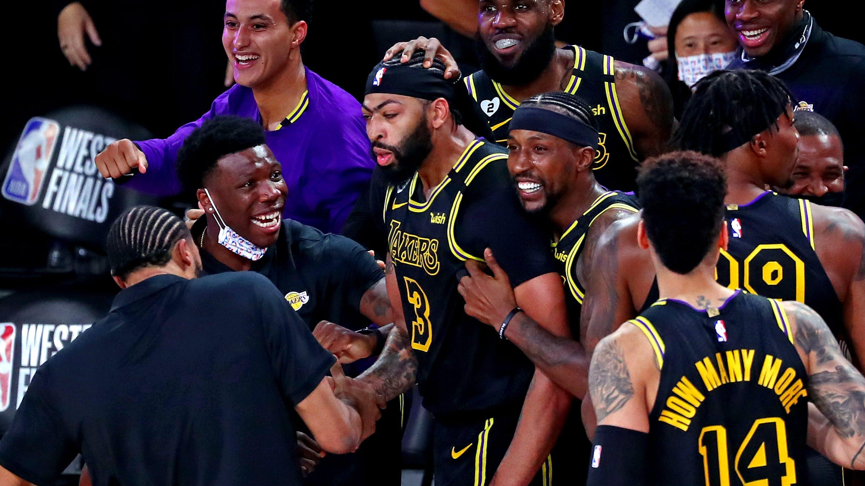 Lakers' Anthony Davis channels Kobe Bryant on game-winning shot