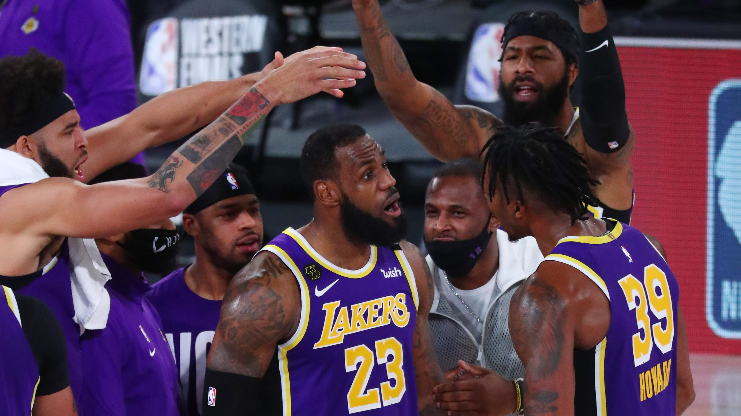 Lakers advance to NBA Finals as LeBron James has Game 5 triple-double