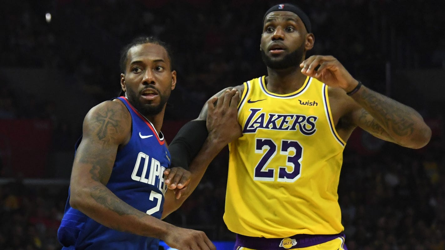 Lakers didn't care about 'Battle of LA' vs. Clippers in NBA playoffs
