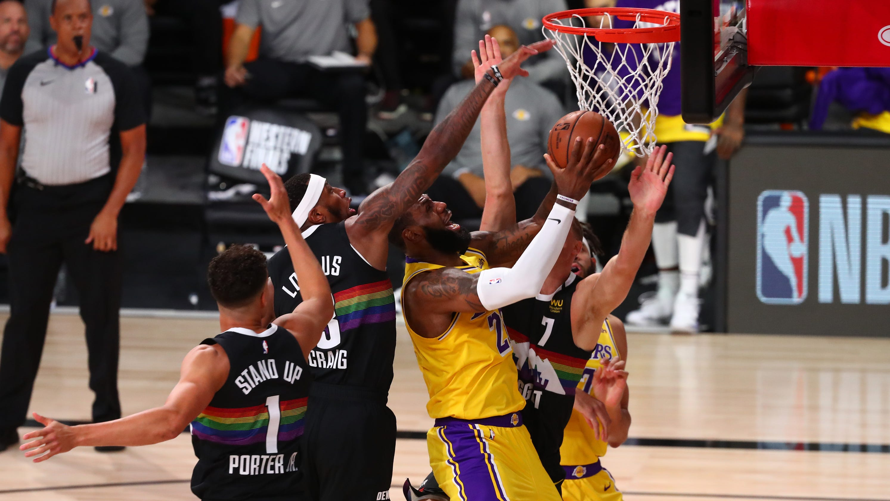 Lakers one victory away from NBA Finals after Game 4 win vs. Nuggets