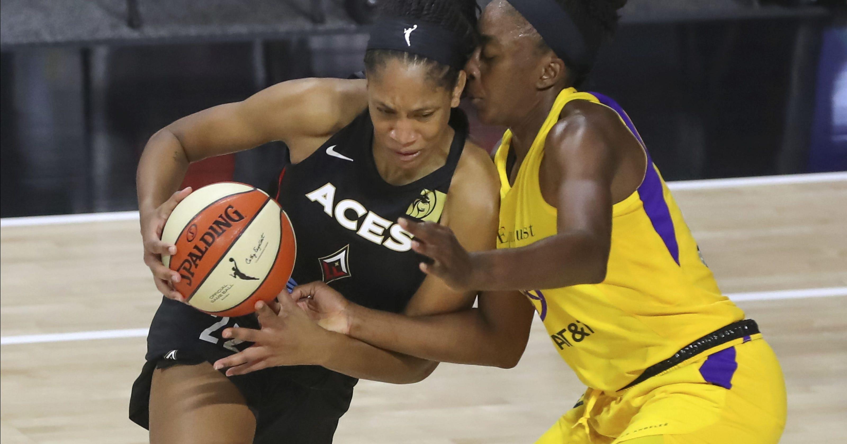 Las Vegas Aces star A'ja Wilson named 2020 WNBA Most Valuable Player