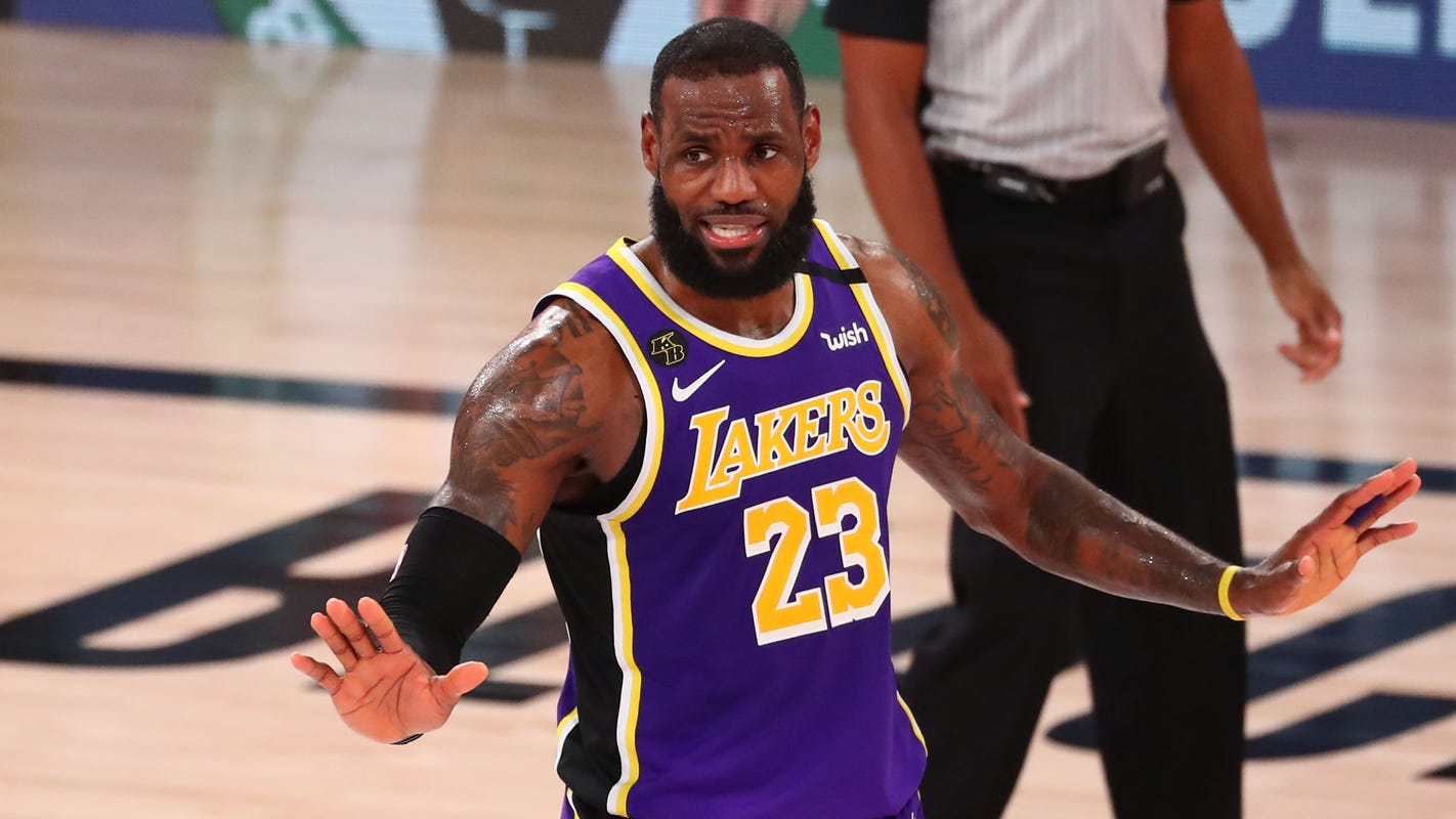 LeBron James' fourth-quarter takeover lifts Lakers to NBA Finals