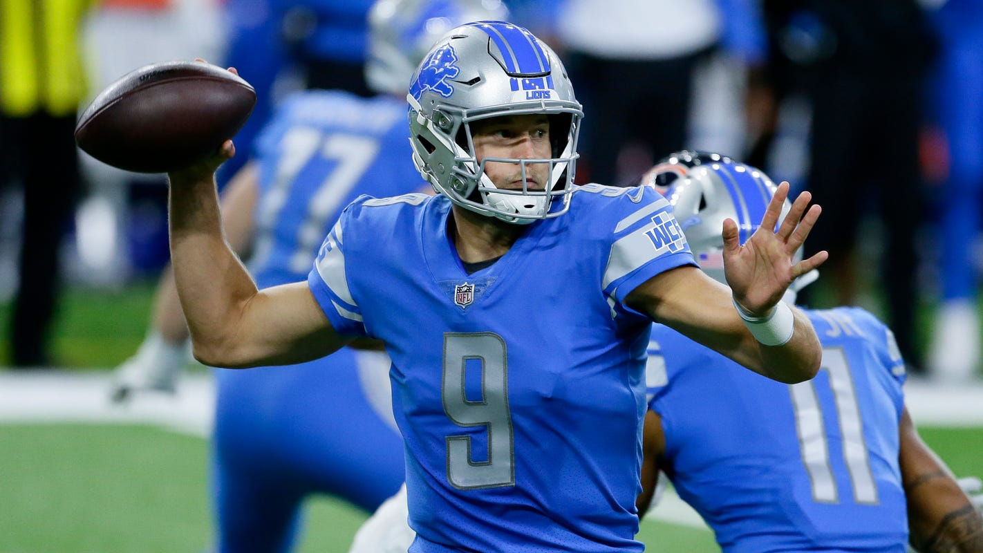 Lions' Matthew Stafford pens essay on racism, white privilege