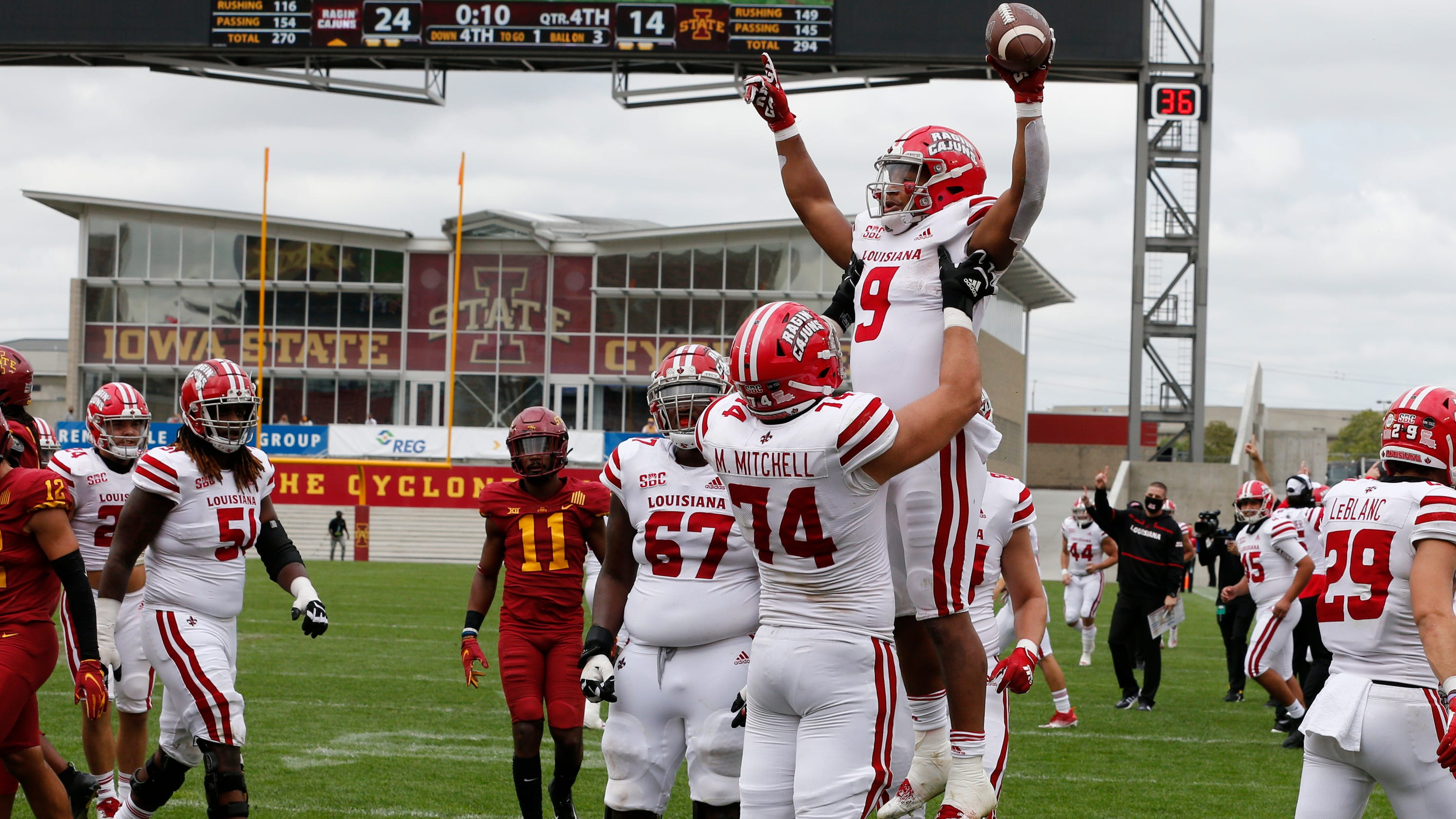 Louisiana-Lafayette up, Florida State down in latest NCAA Re-Rank 1-76