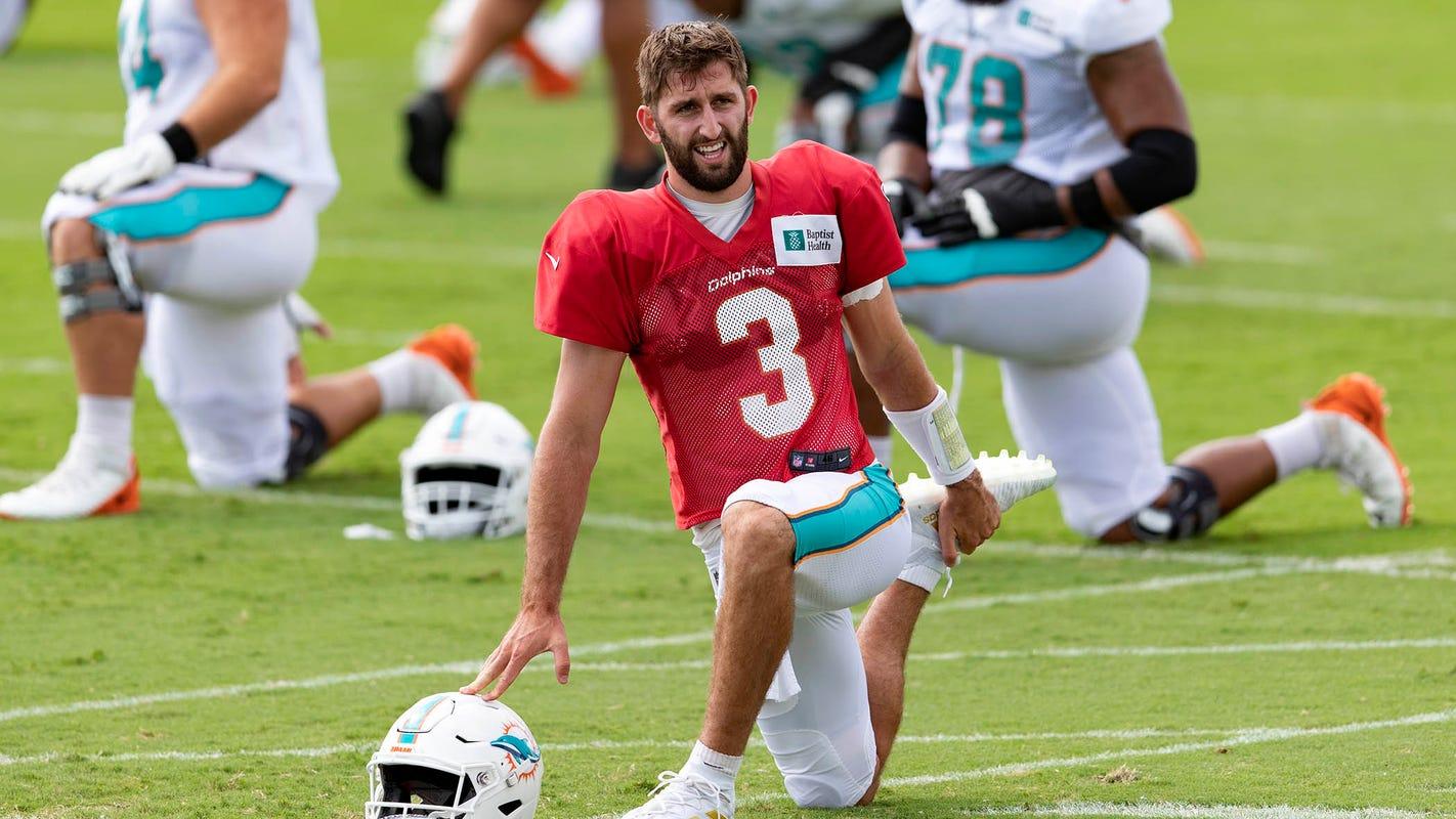Miami Dolphins open to Josh Rosen trade, coach Brian Flores confirms
