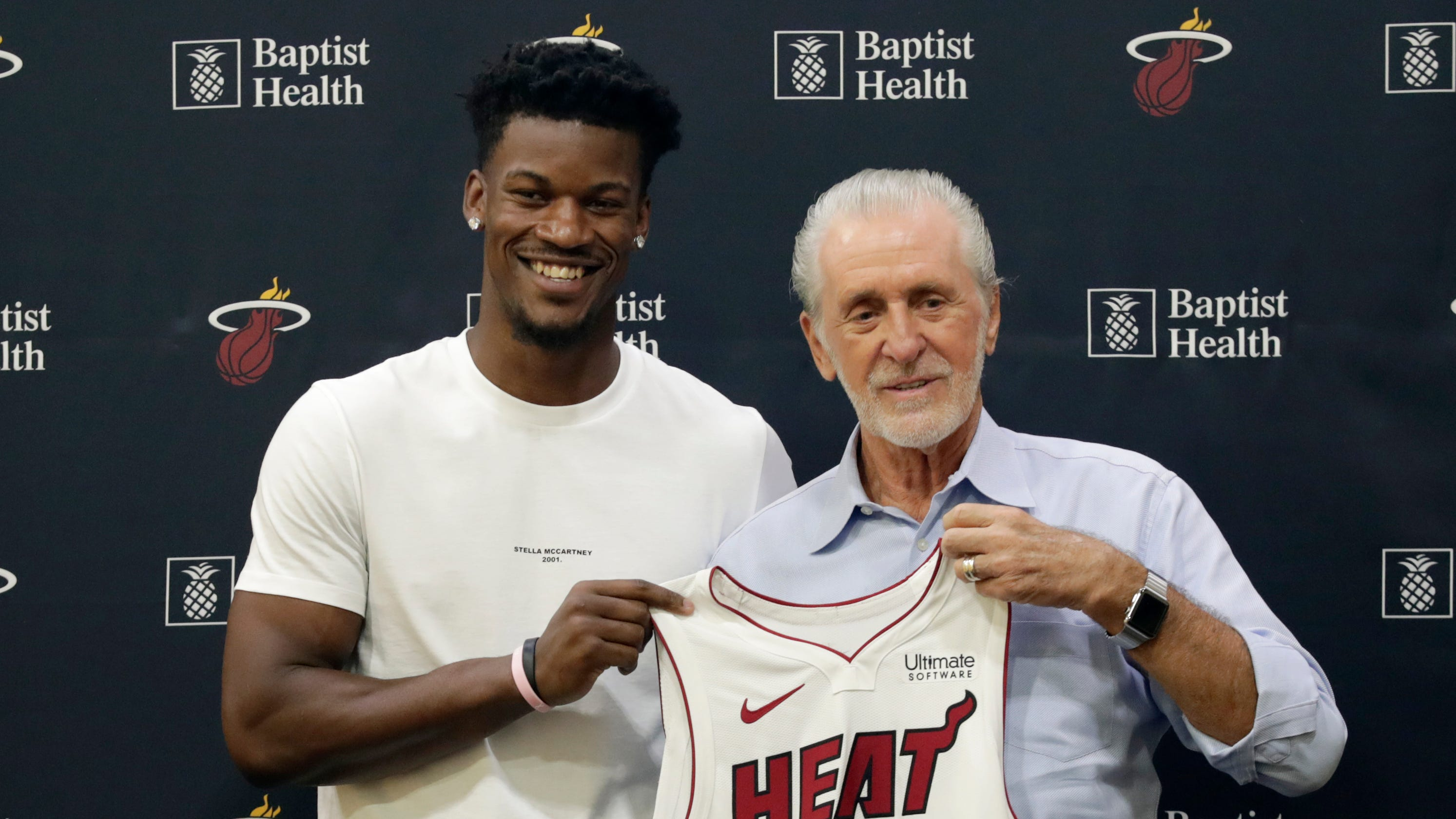 Miami Heat president Pat Riley has vision, fire Lakers know well