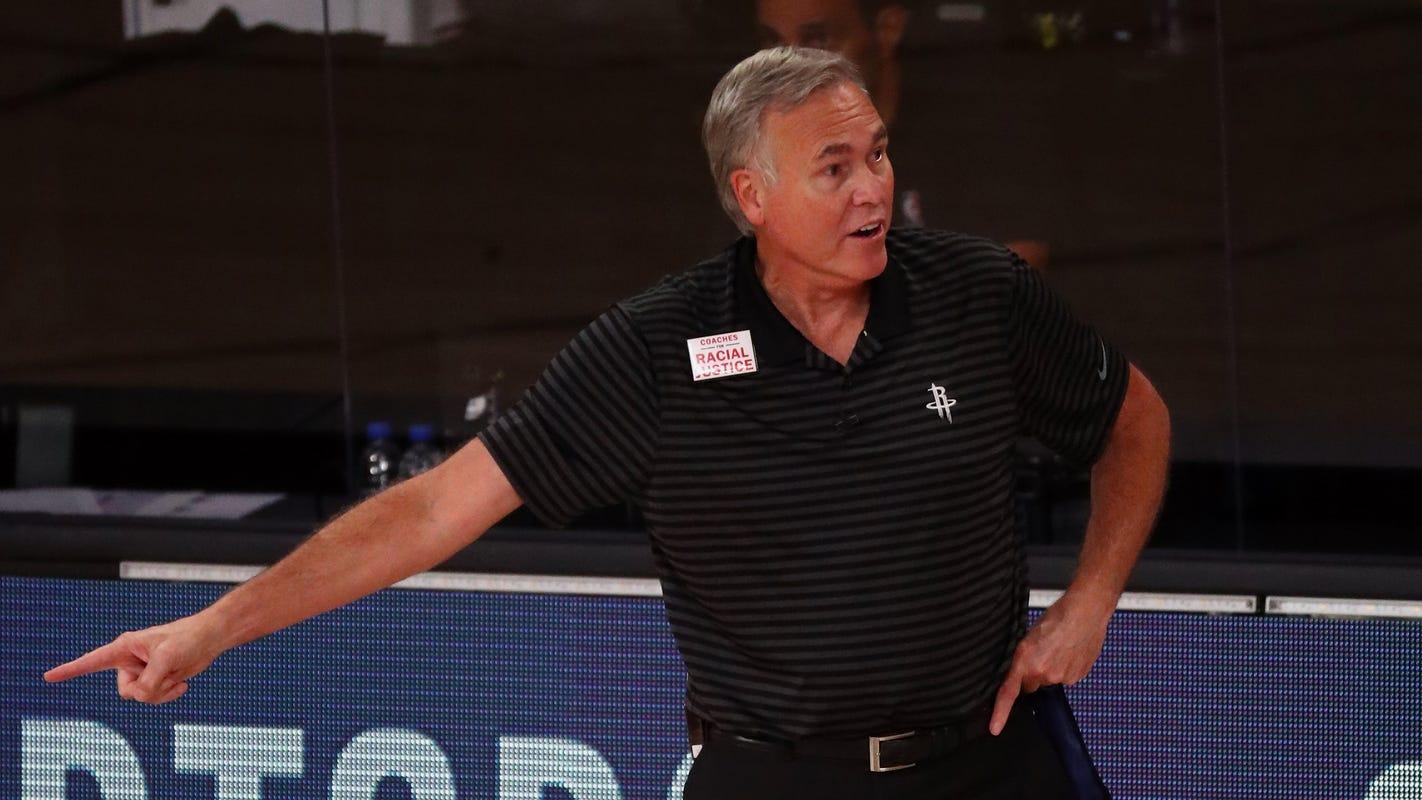 Mike D'Antoni informs Houston Rockets he won't return as head coach