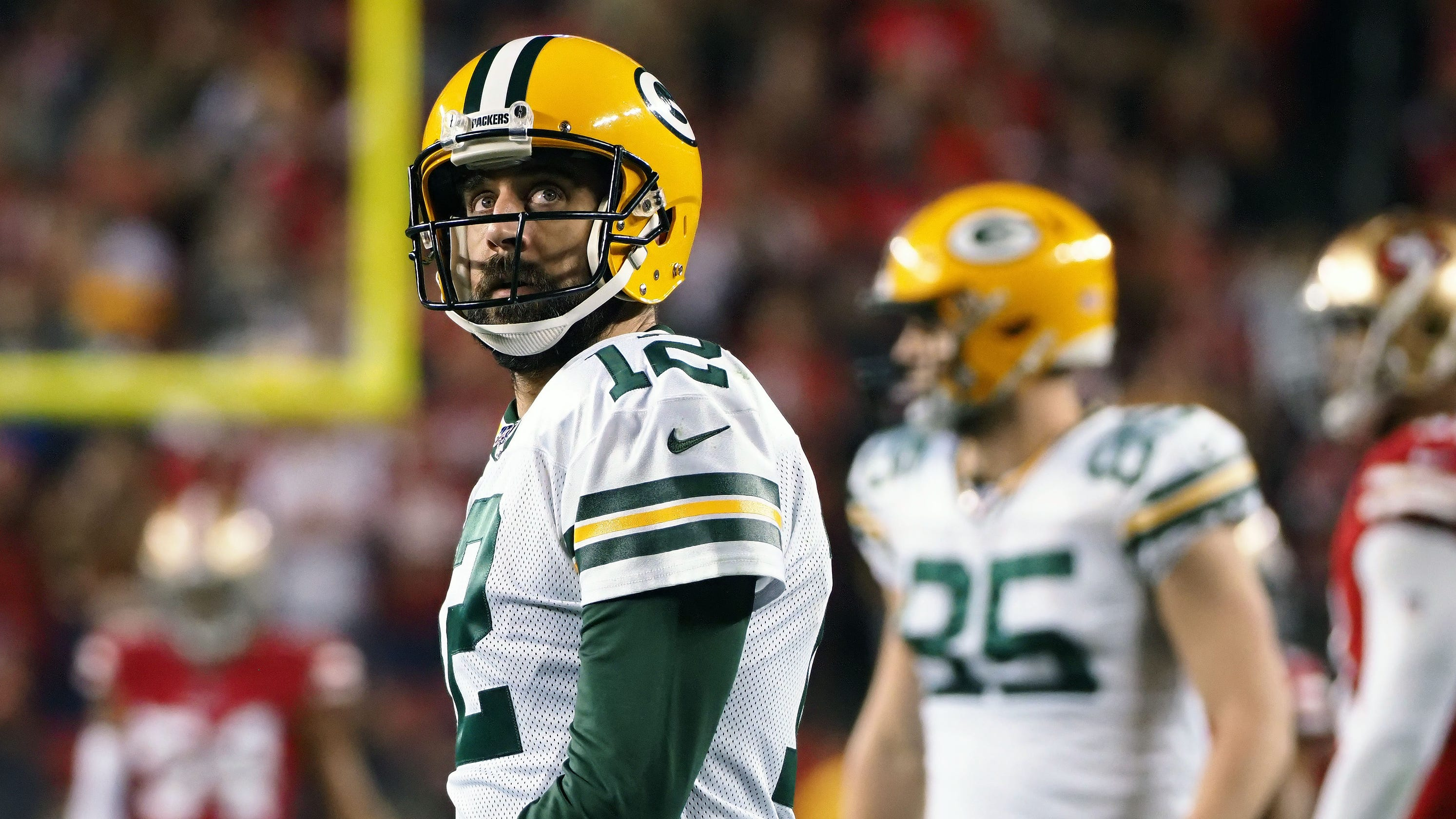 Mitchell Trubisky, Aaron Rodgers top list