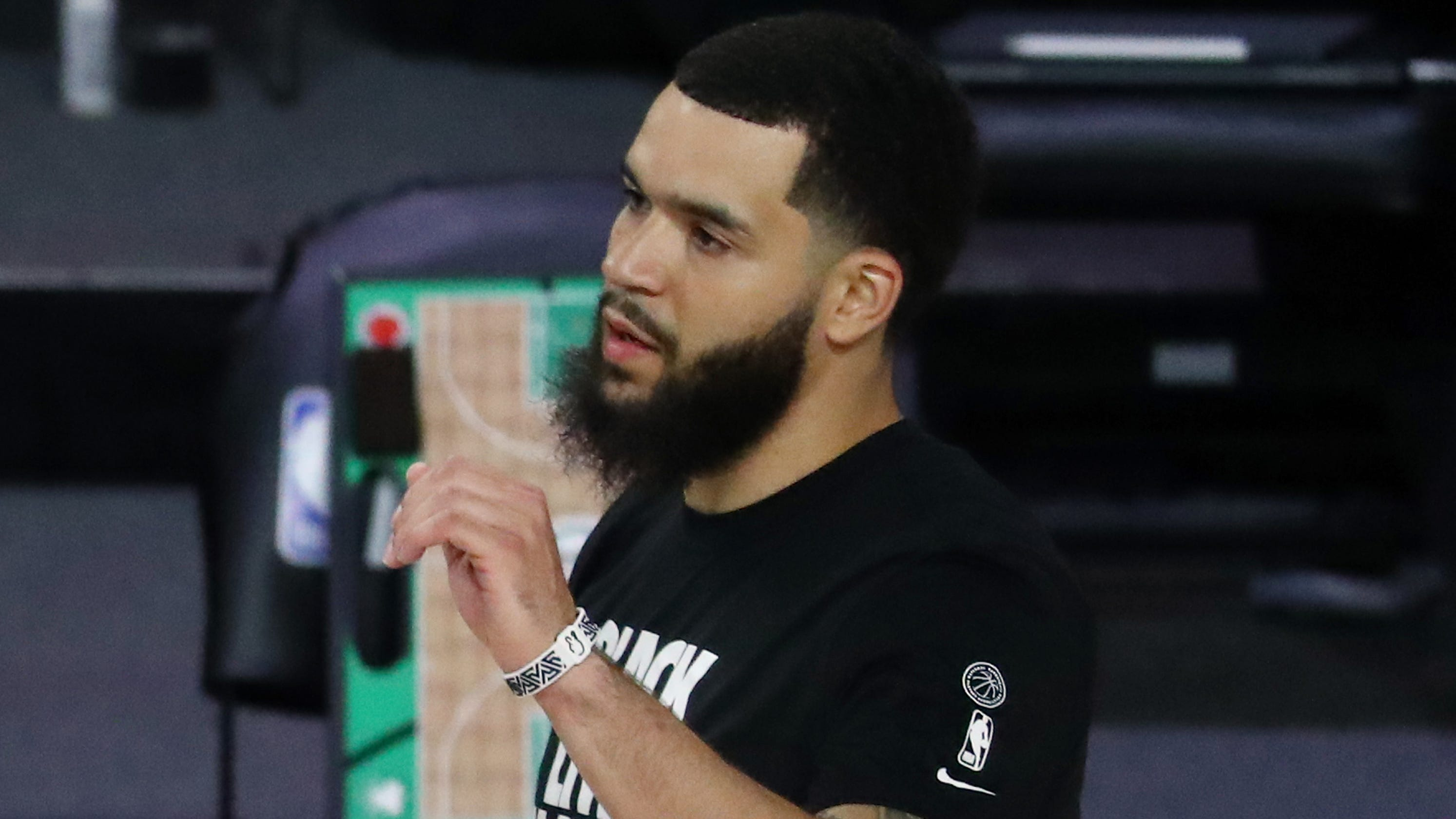 NBA players beginning to be reunited with families inside bubble