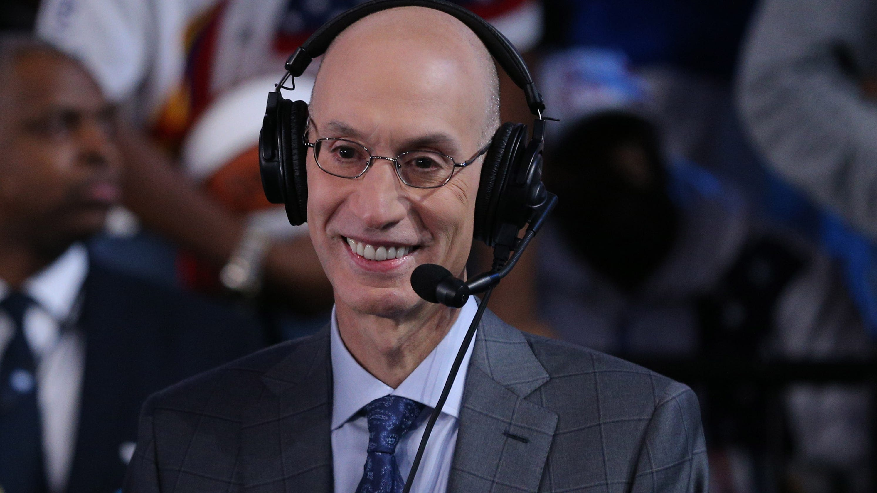 NBA's Adam Silver defends league's business relationship with China