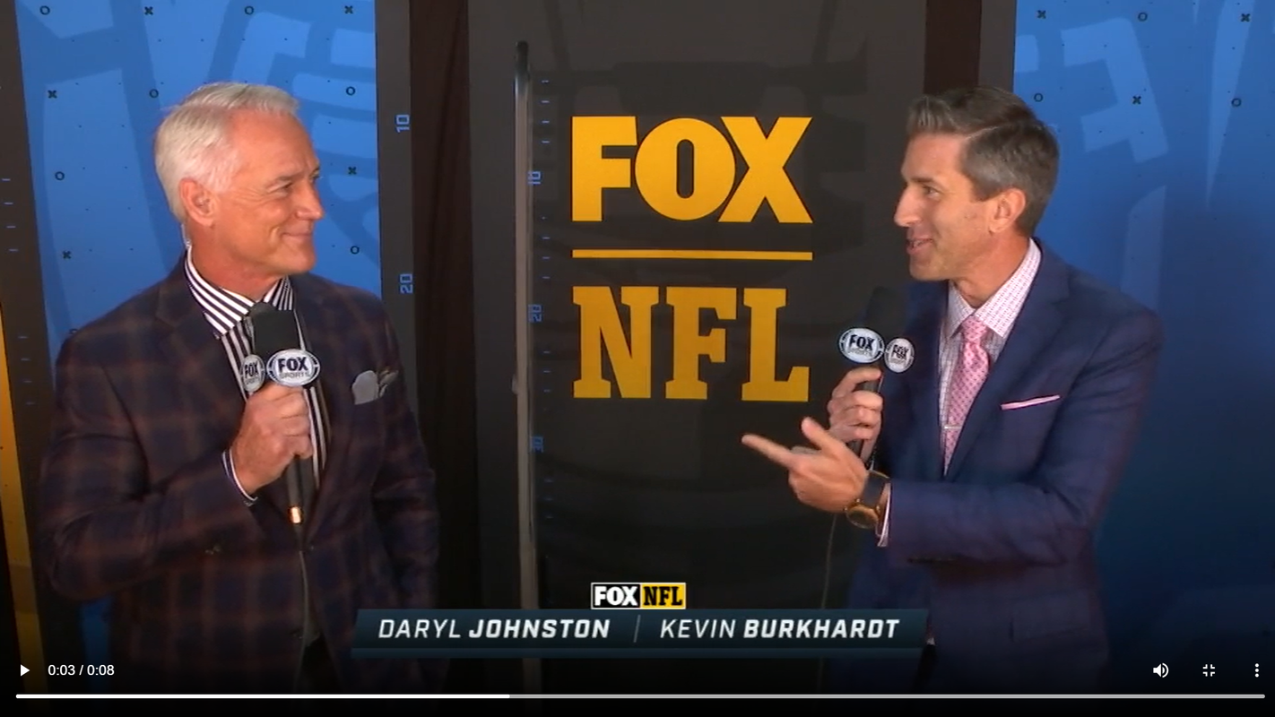 NFL Fox's Kevin Burkhardt, Daryl Johnston embrace COVID-19 broadcast