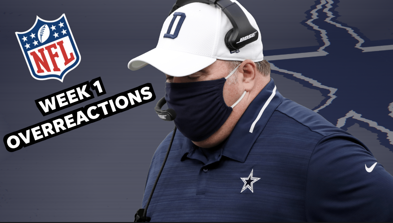 NFL Week 1 overreactions: New coach, same disappointing Cowboys
