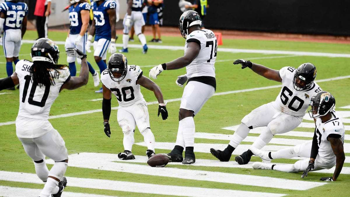 NFL's best celebration photos in 2020 season