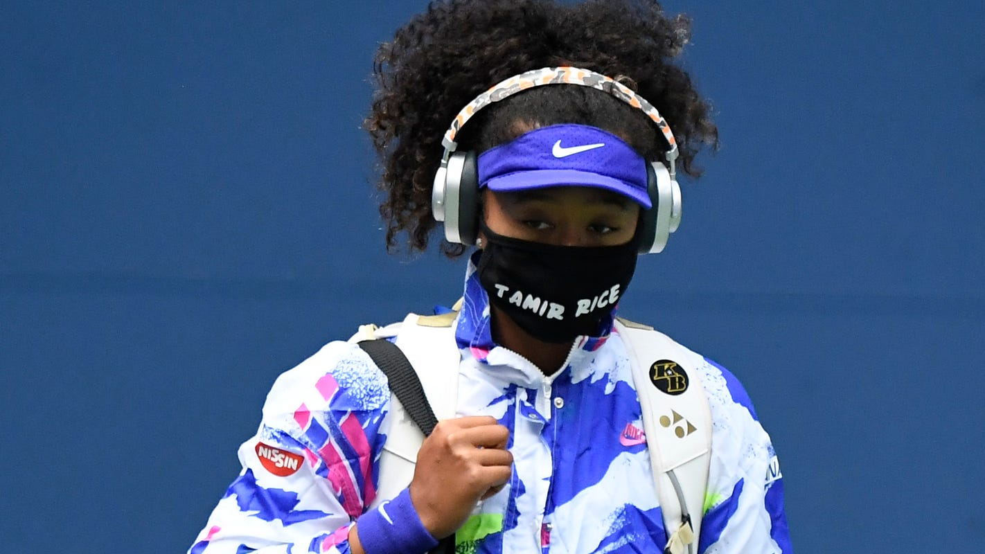 Naomi Osaka's response to question about message behind US Open masks: 'What was the message you got?'