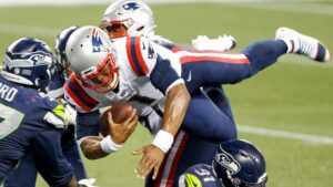 New England Patriots' Cam Newton shows NFL what he is capable of doing