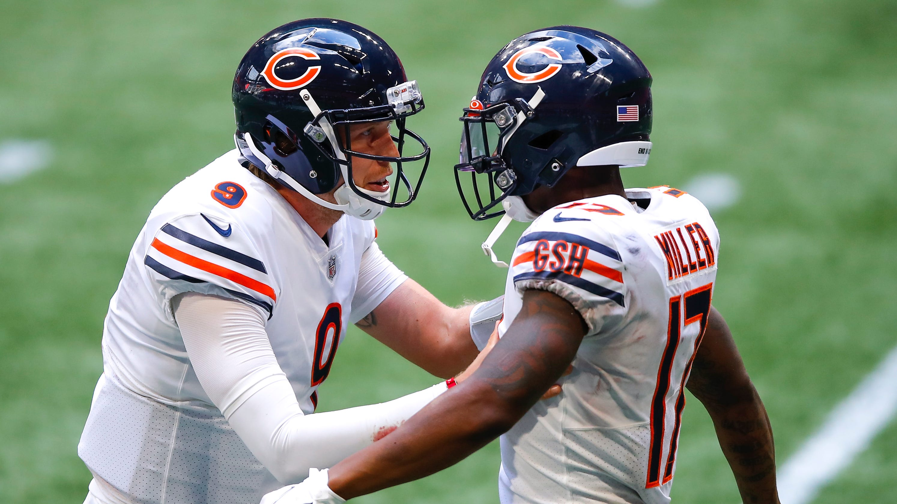 Nick Foles takes over as Chicago Bears' starting quarterback as Mitchell Trubisky heads to bench