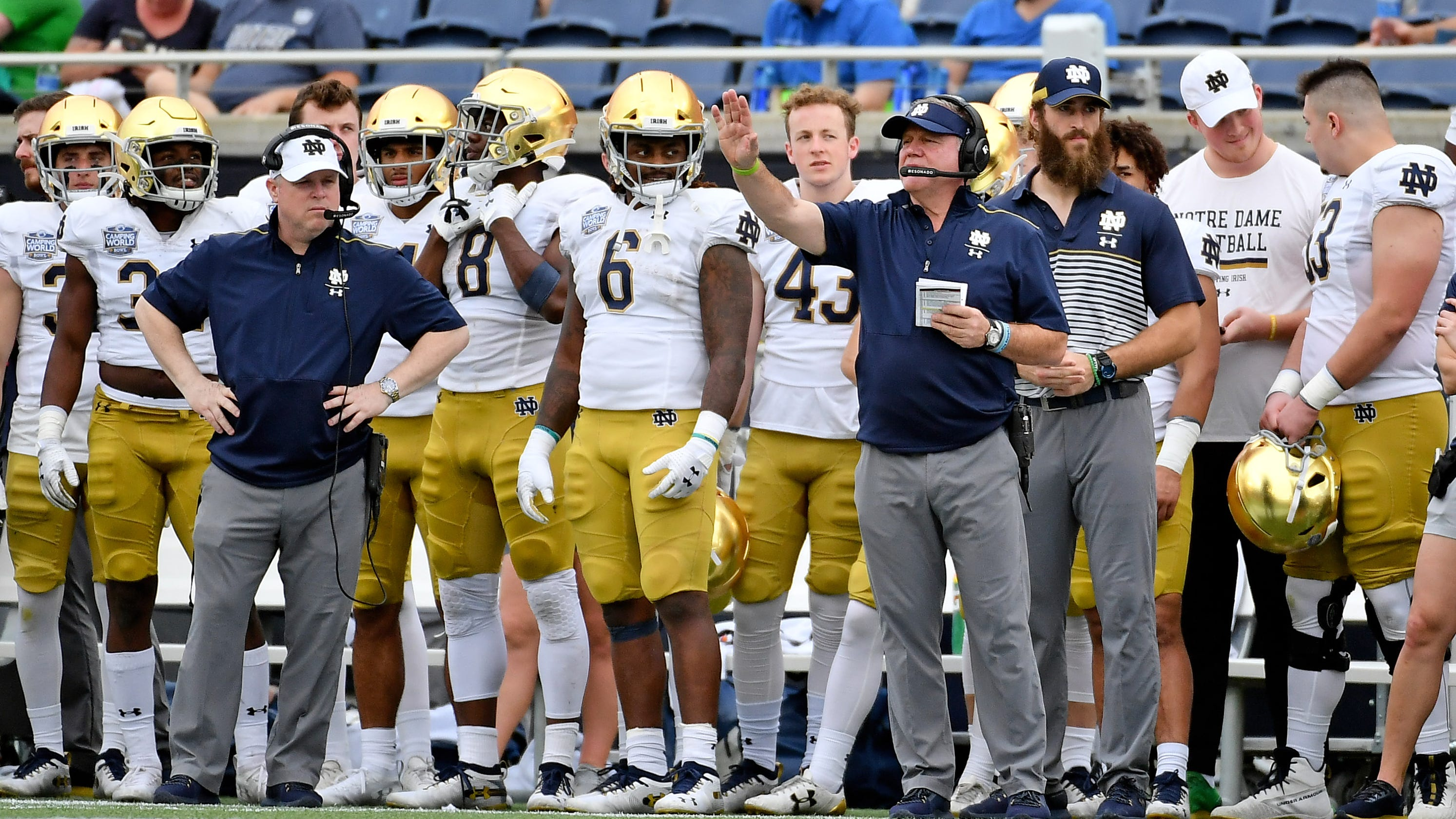 Notre Dame drops Duke as it plays ACC football for first time