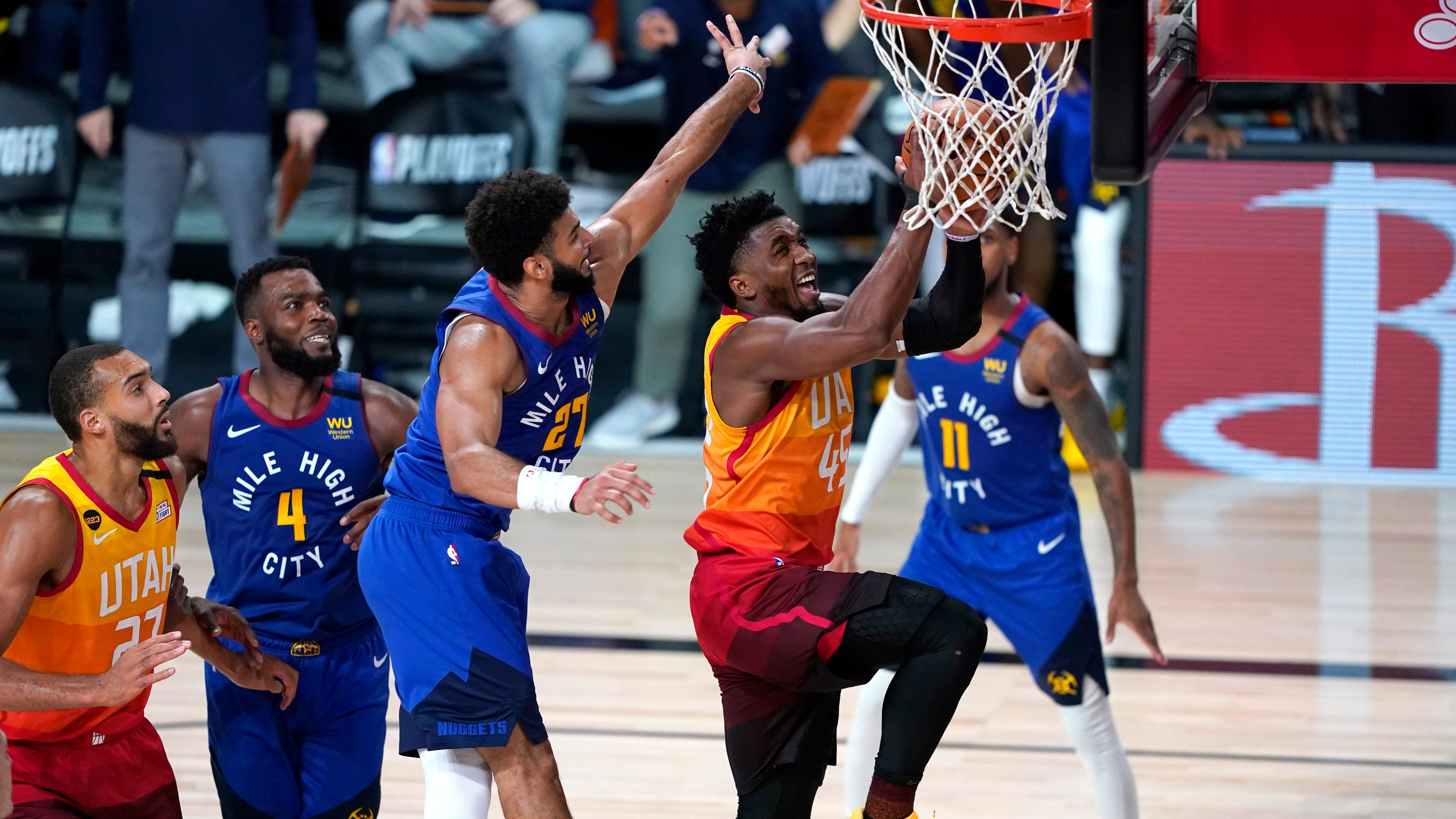 Nuggets and Jazz in elimination game Tuesday night